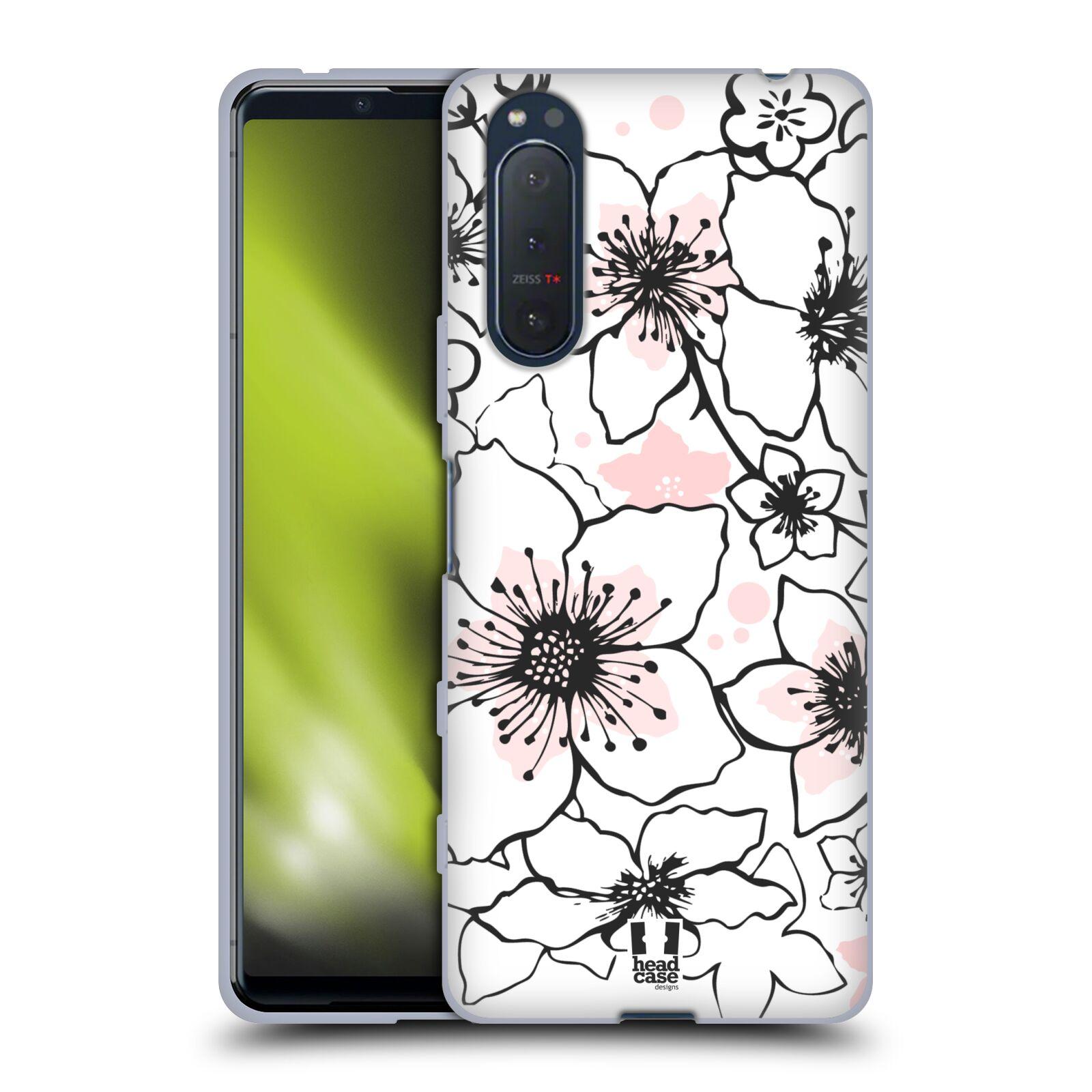 Silikonové pouzdro na mobil Sony Xperia 5 II - Head Case - BLOSSOMS SPRINGTIME