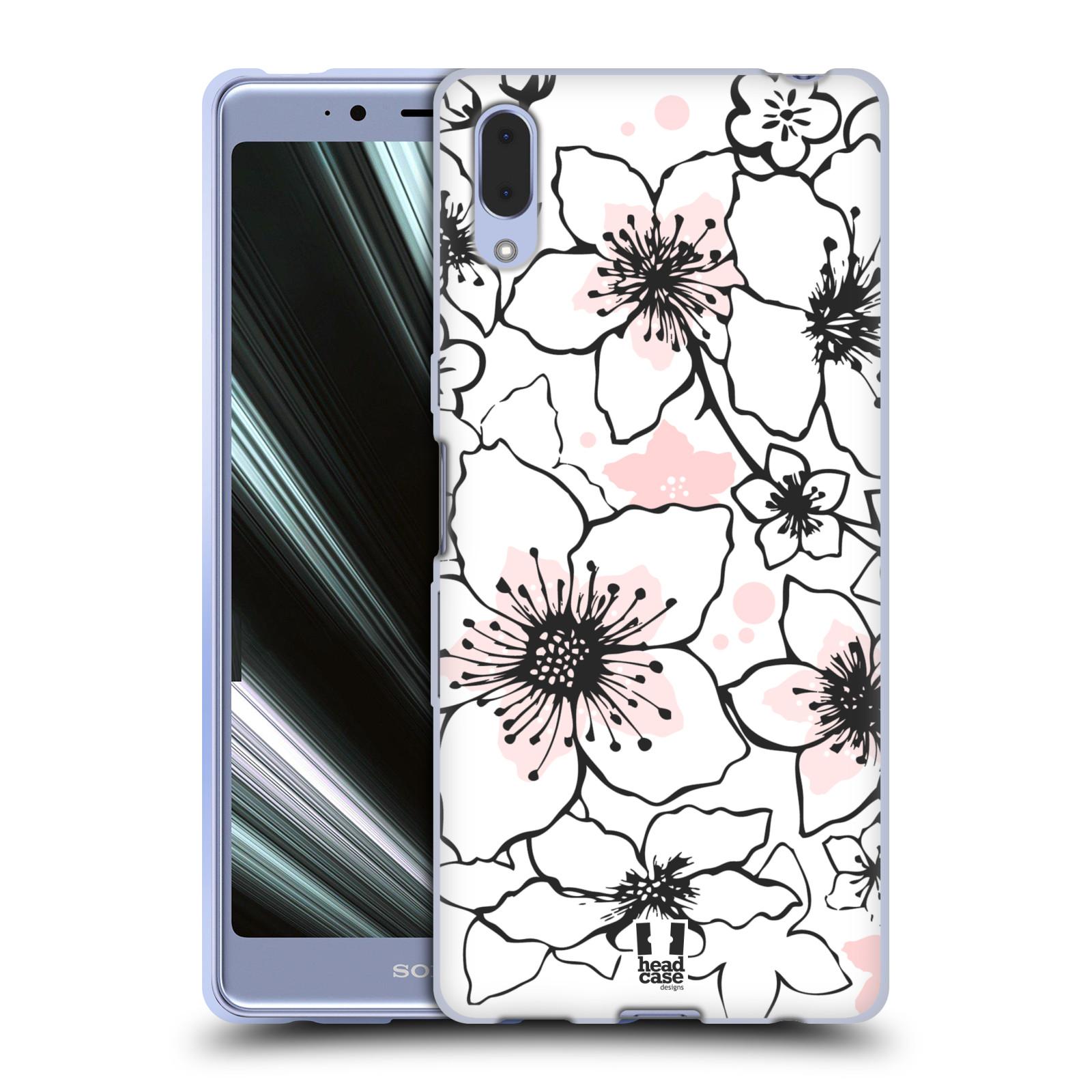 Silikonové pouzdro na mobil Sony Xperia L3 - Head Case - BLOSSOMS SPRINGTIME