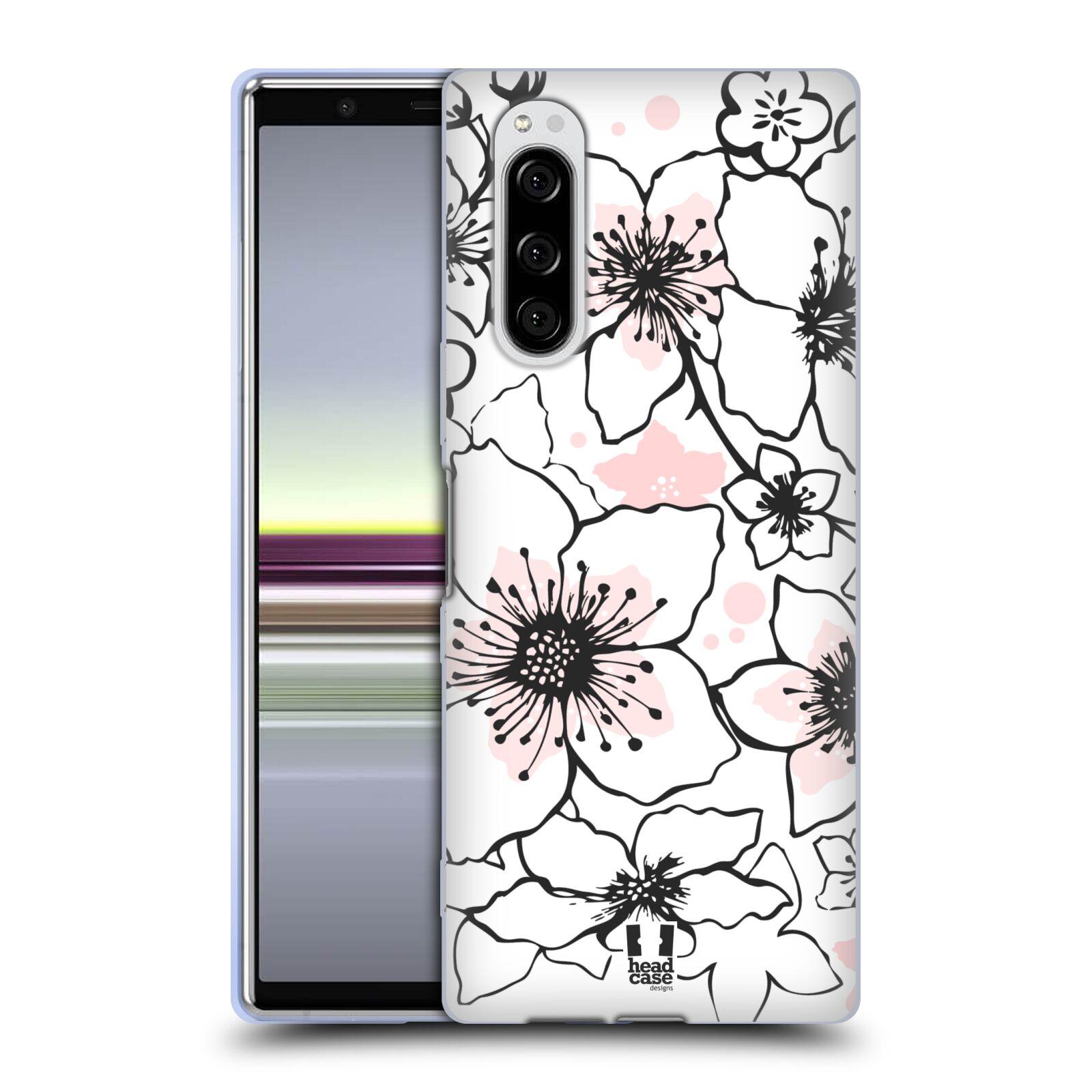 Silikonové pouzdro na mobil Sony Xperia 5 - Head Case - BLOSSOMS SPRINGTIME