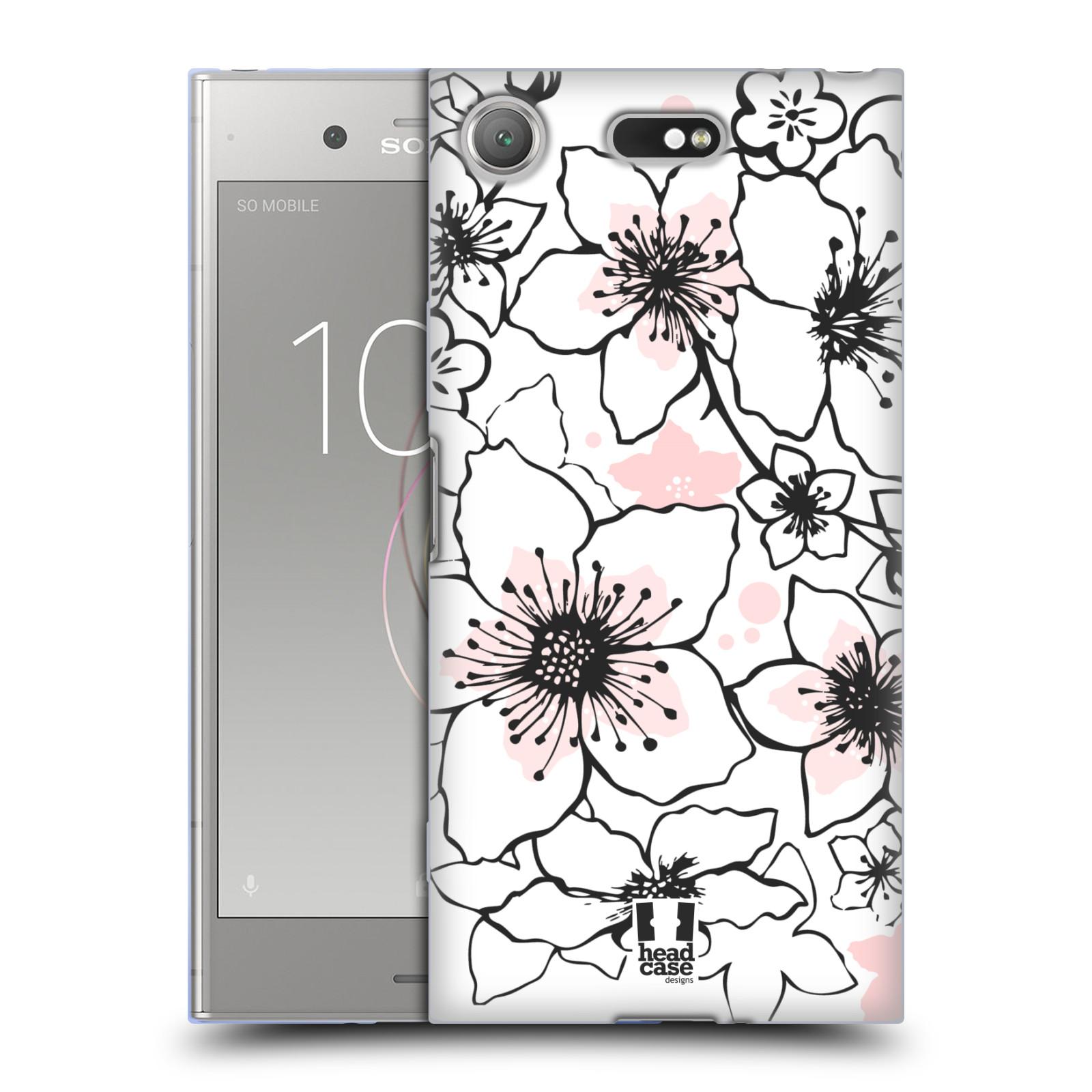 Silikonové pouzdro na mobil Sony Xperia XZ1 Compact - Head Case - BLOSSOMS SPRINGTIME