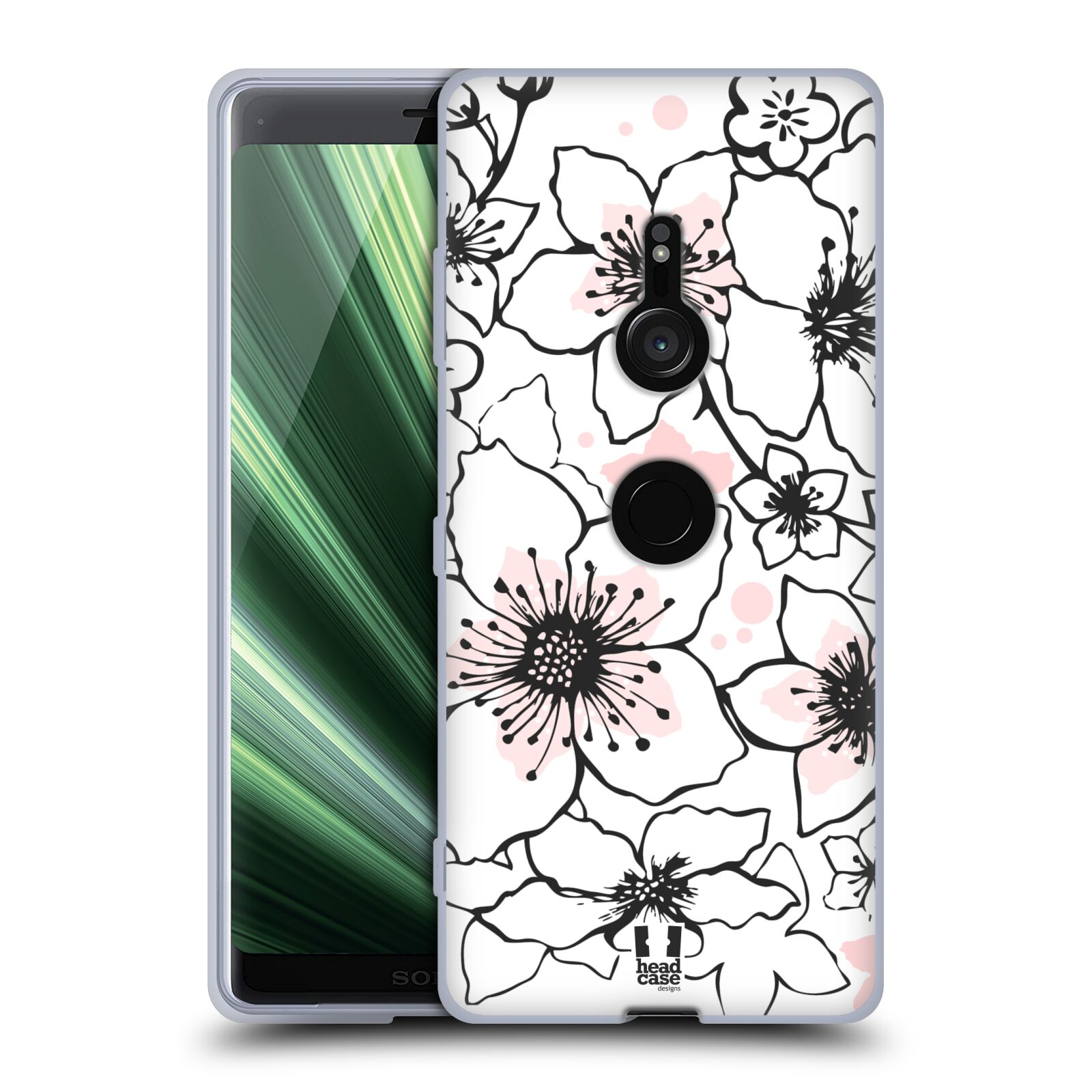 Silikonové pouzdro na mobil Sony Xperia XZ3 - Head Case - BLOSSOMS SPRINGTIME