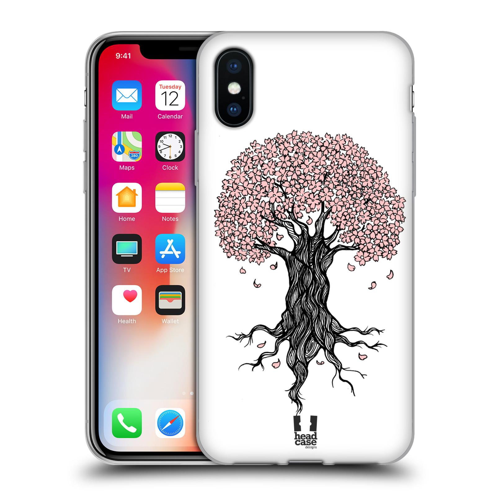 Silikonové pouzdro na mobil Apple iPhone XS - Head Case - BLOSSOMS TREE