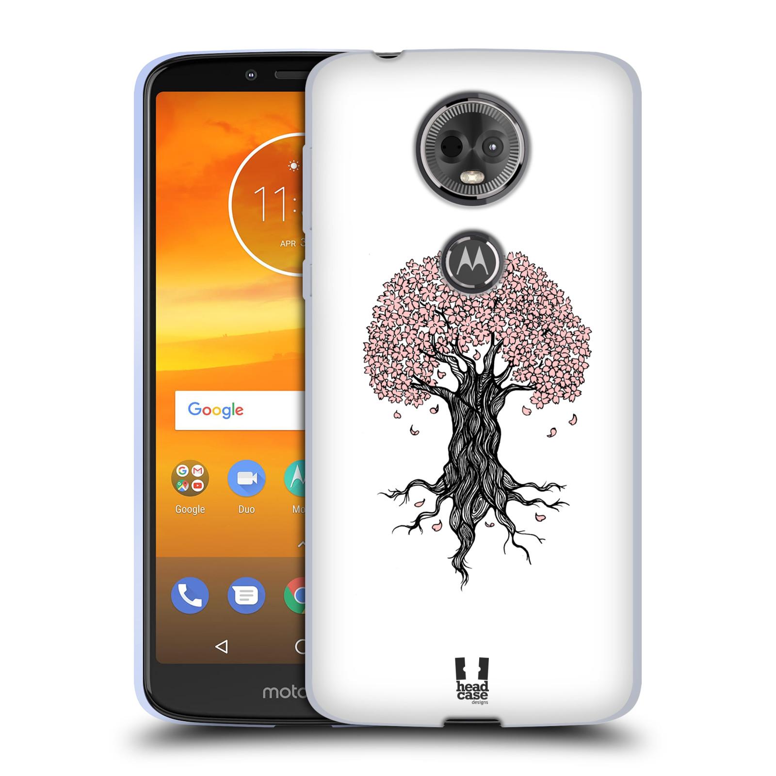 Silikonové pouzdro na mobil Motorola Moto E5 Plus - Head Case - BLOSSOMS TREE
