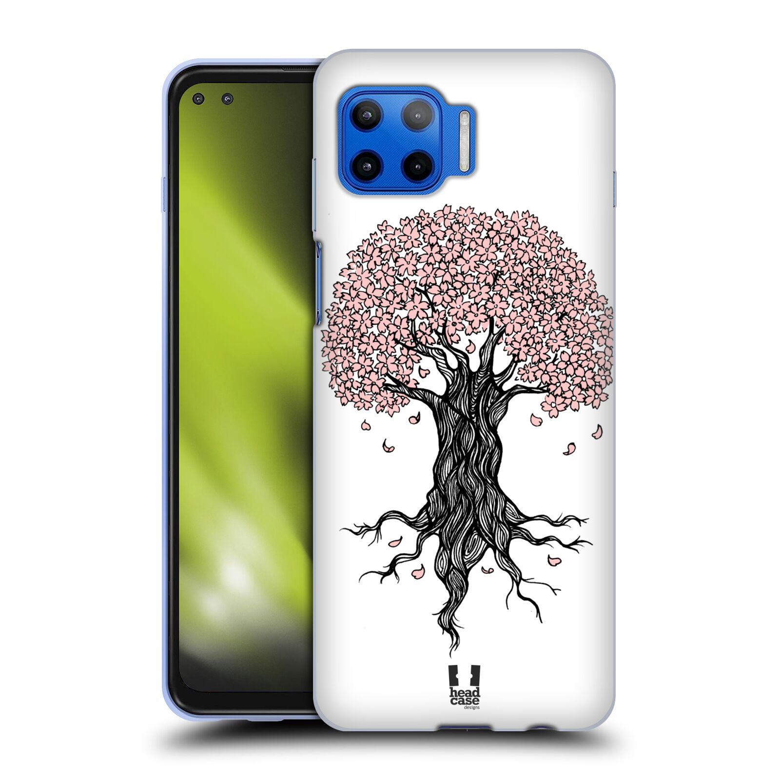 Silikonové pouzdro na mobil Motorola Moto G 5G Plus - Head Case - BLOSSOMS TREE