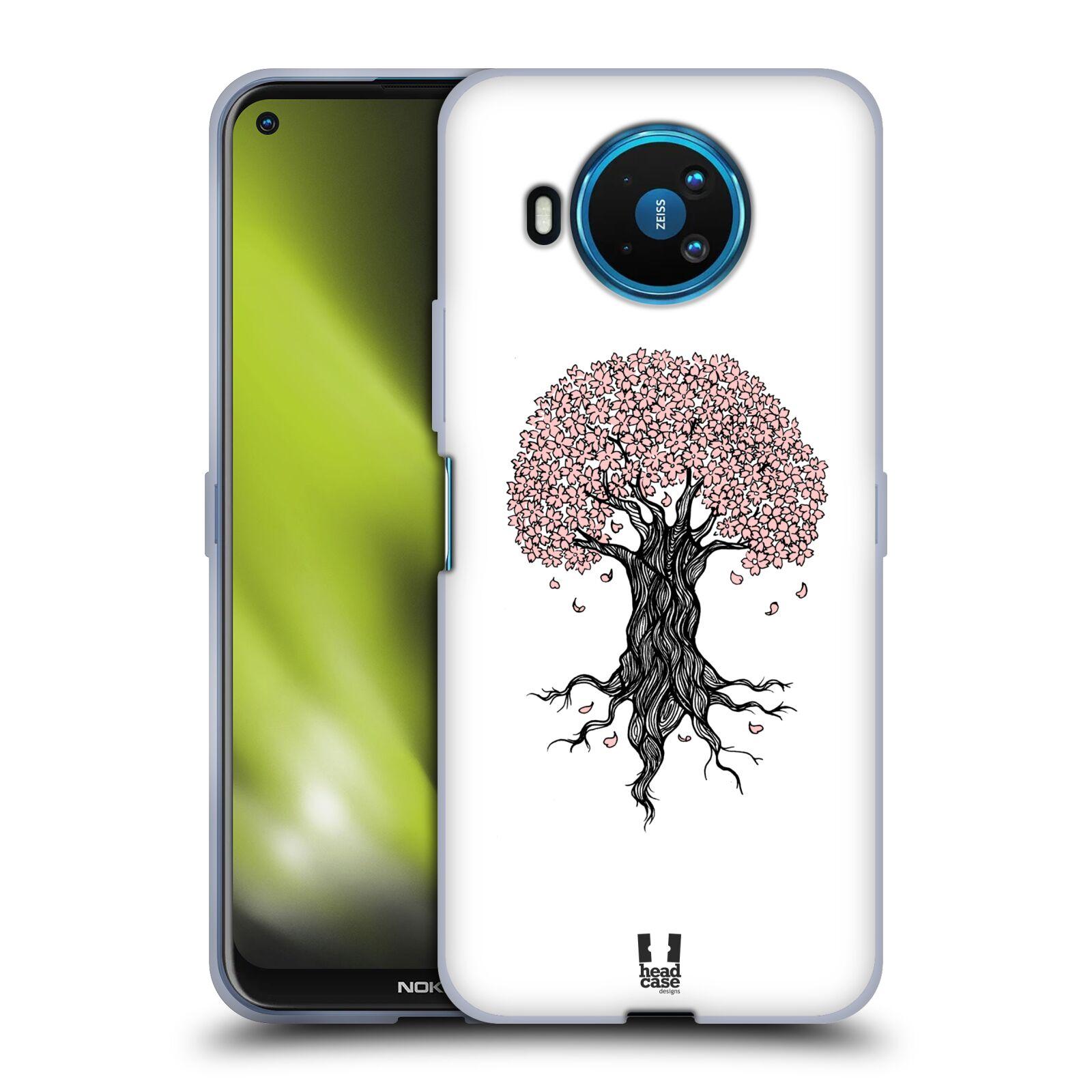 Silikonové pouzdro na mobil Nokia 8.3 5G - Head Case - BLOSSOMS TREE