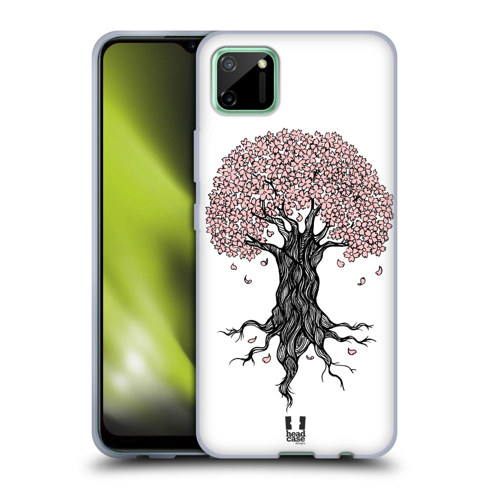 Silikonové pouzdro na mobil Realme C11 - Head Case - BLOSSOMS TREE