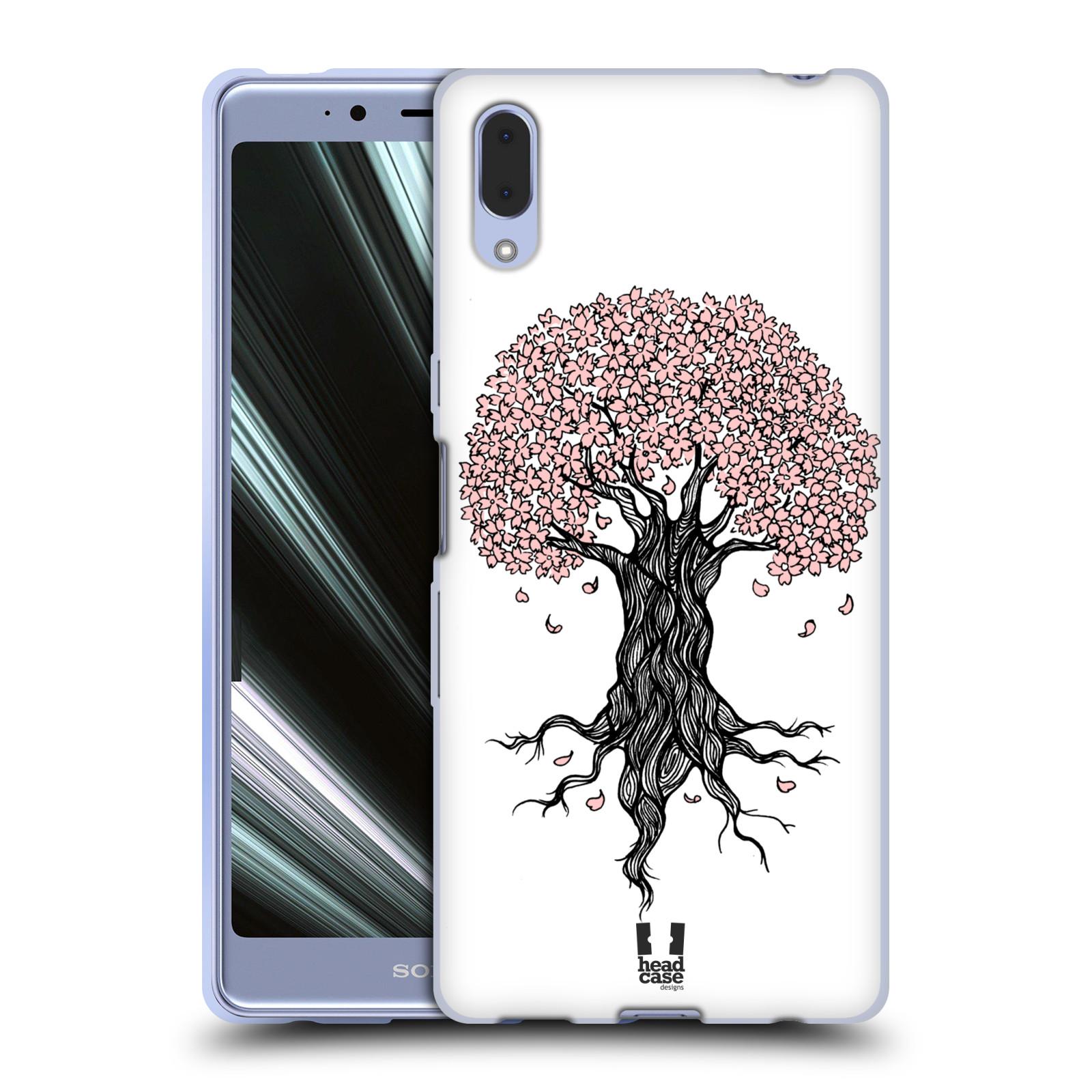 Silikonové pouzdro na mobil Sony Xperia L3 - Head Case - BLOSSOMS TREE