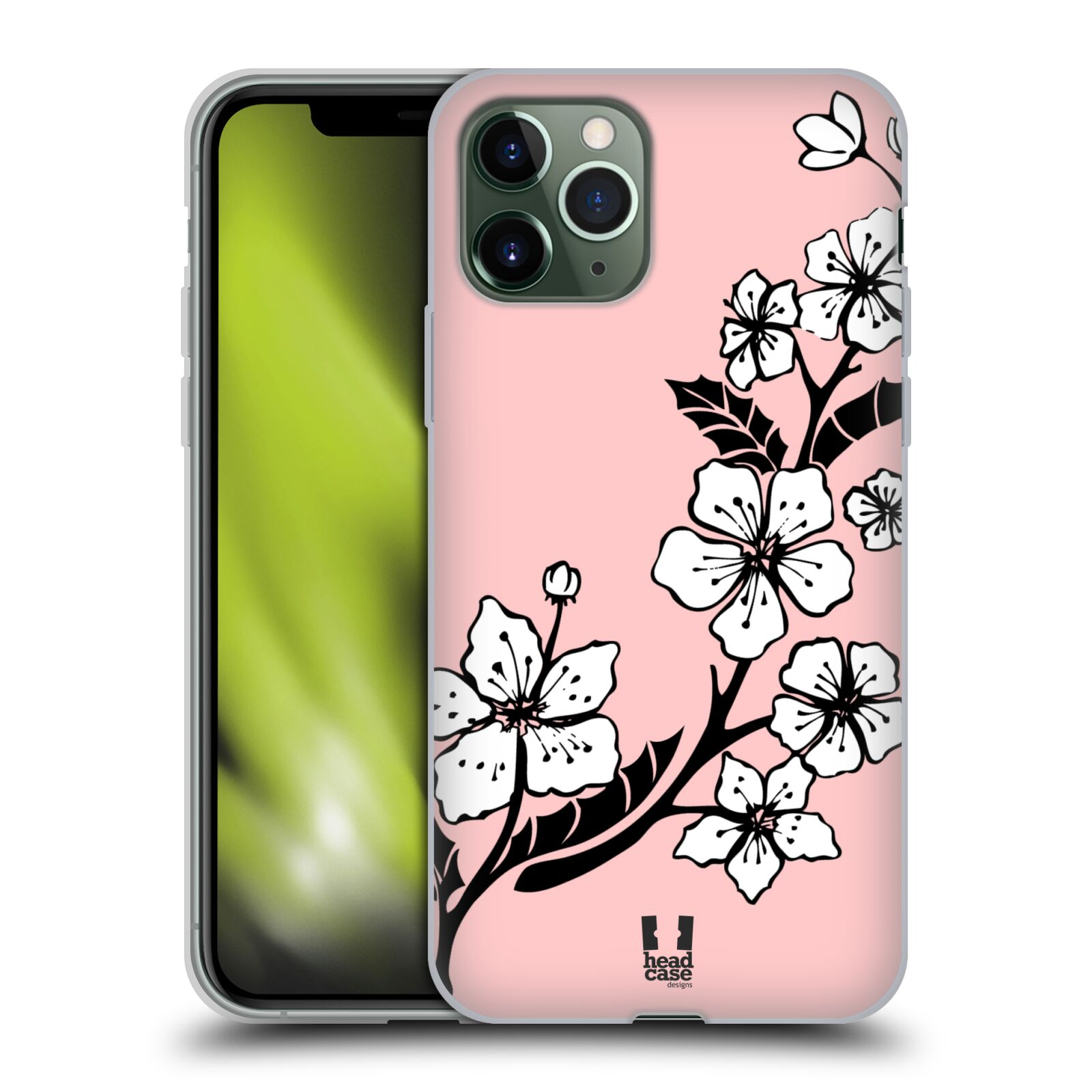 kryt na iphone 6s homer | Silikonové pouzdro na mobil Apple iPhone 11 Pro - Head Case - BLOSSOMS VINE