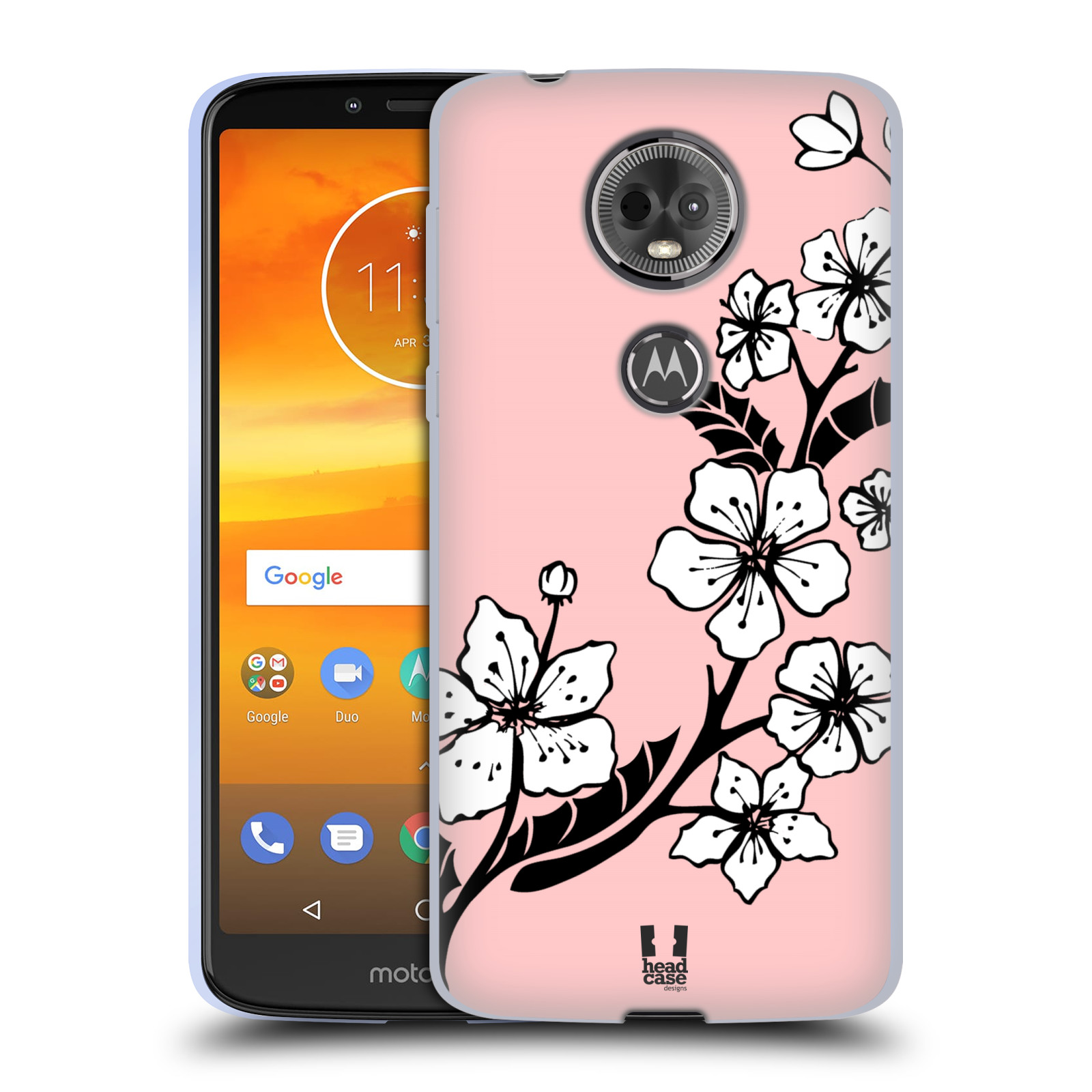 Silikonové pouzdro na mobil Motorola Moto E5 Plus - Head Case - BLOSSOMS VINE