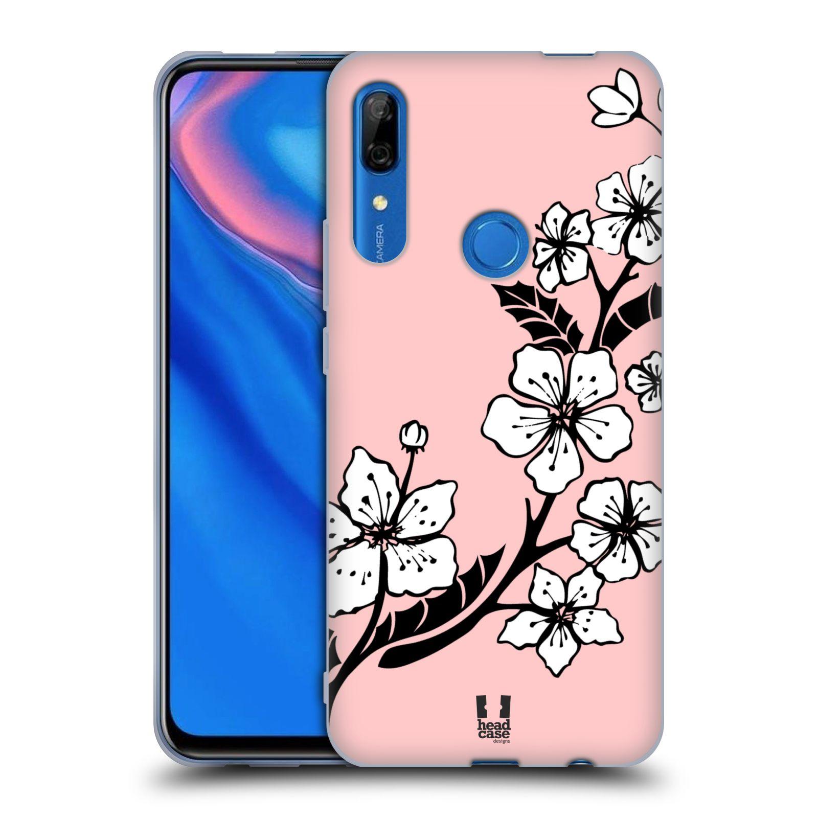 Silikonové pouzdro na mobil Huawei P Smart Z - Head Case - BLOSSOMS VINE