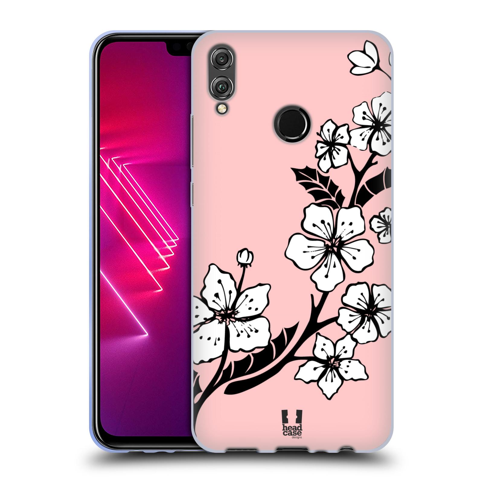 Silikonové pouzdro na mobil Honor View 10 Lite - Head Case - BLOSSOMS VINE