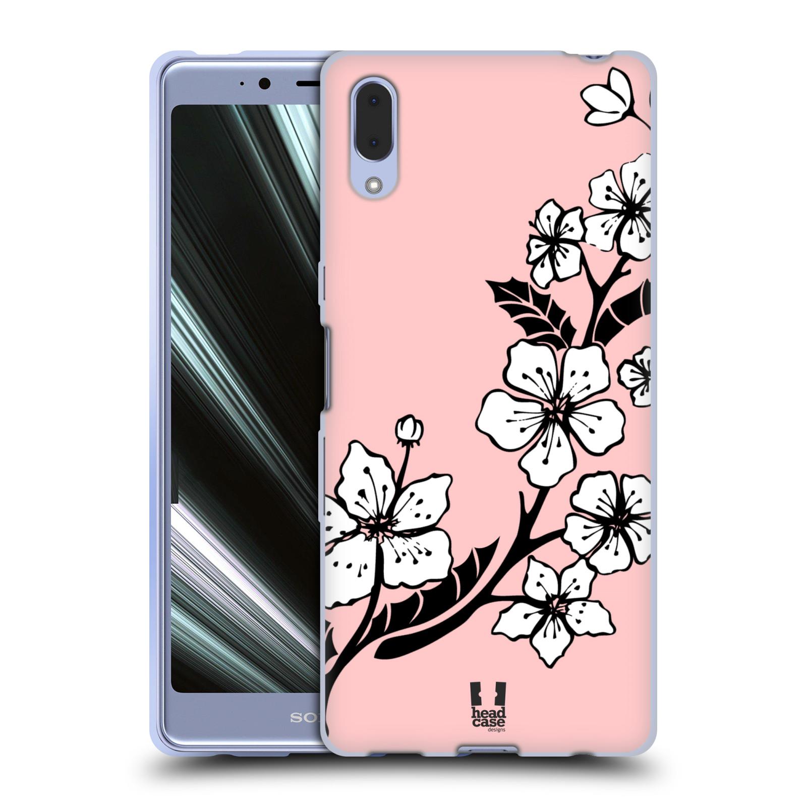 Silikonové pouzdro na mobil Sony Xperia L3 - Head Case - BLOSSOMS VINE
