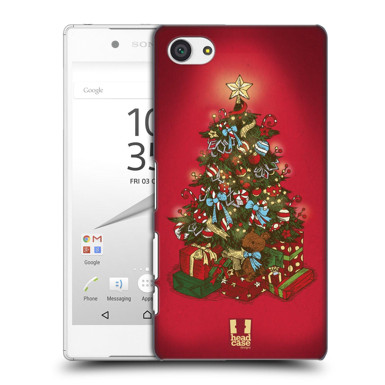 Plastové pouzdro na mobil Sony Xperia Z5 Compact - Head Case - Stromeček