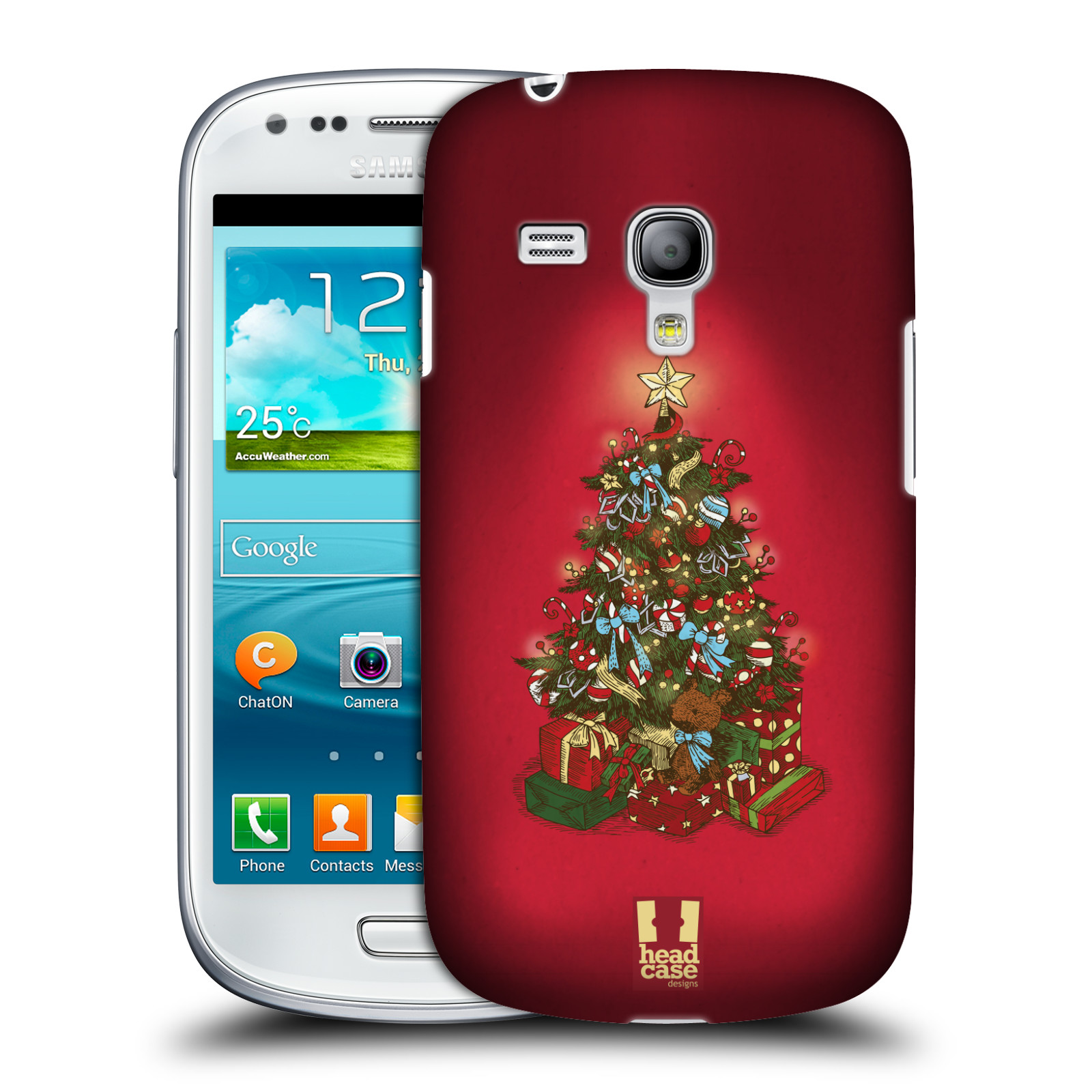 Plastové pouzdro na mobil Samsung Galaxy S III Mini - Head Case - Stromeček