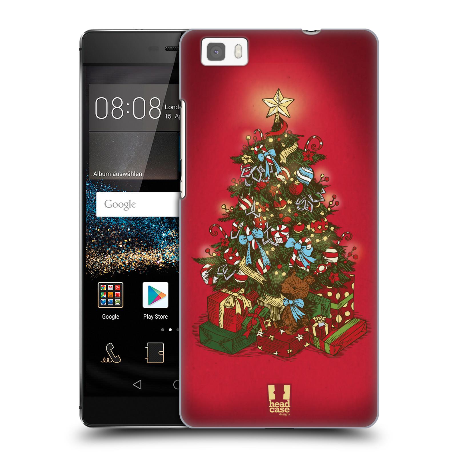 Plastové pouzdro na mobil Huawei P8 Lite - Head Case - Stromeček