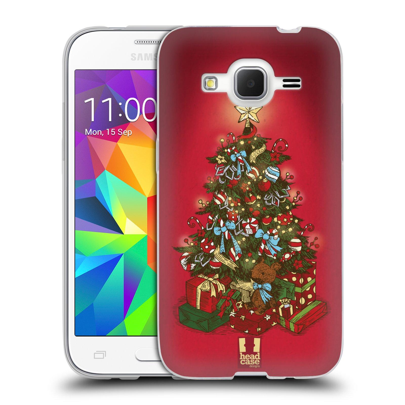 Silikonové pouzdro na mobil Samsung Galaxy Core Prime VE - Head Case - Stromeček