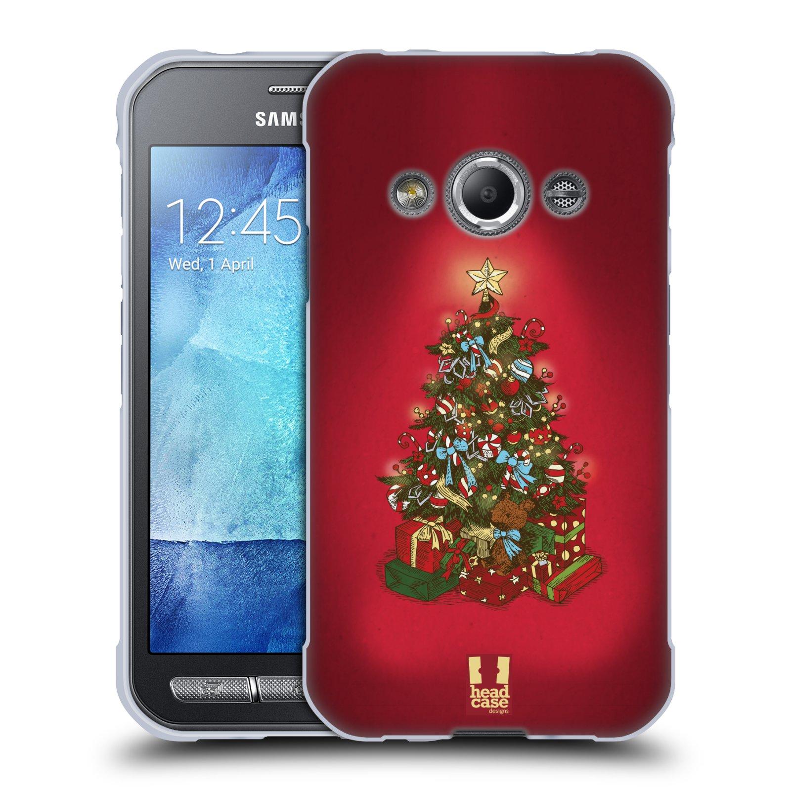 Silikonové pouzdro na mobil Samsung Galaxy Xcover 3 - Head Case - Stromeček