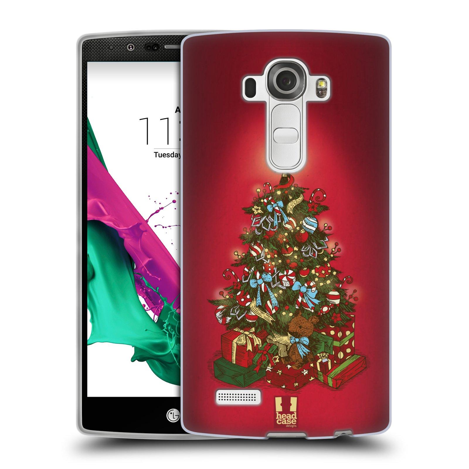 Silikonové pouzdro na mobil LG G4 - Head Case - Stromeček