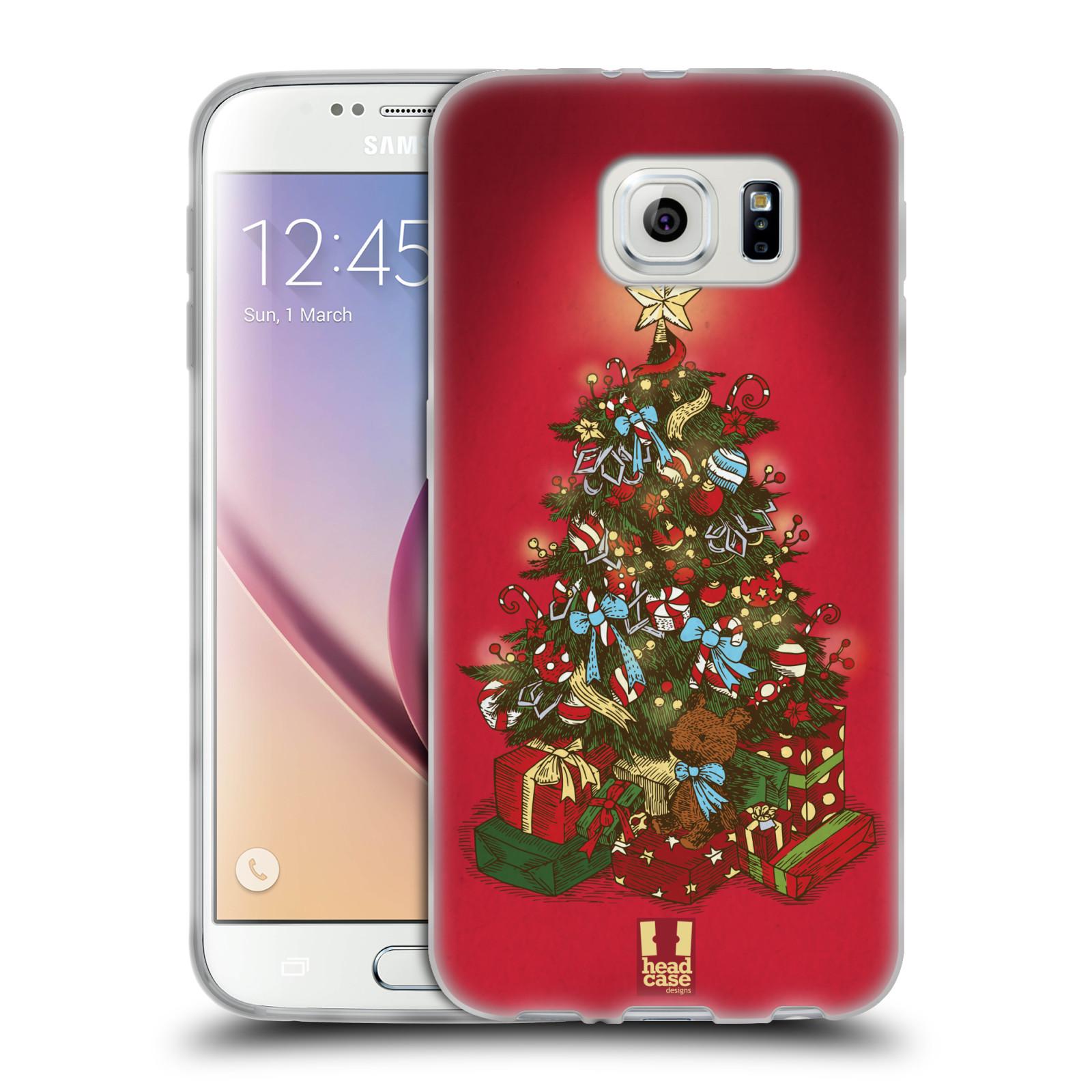 Silikonové pouzdro na mobil Samsung Galaxy S6 - Head Case - Stromeček