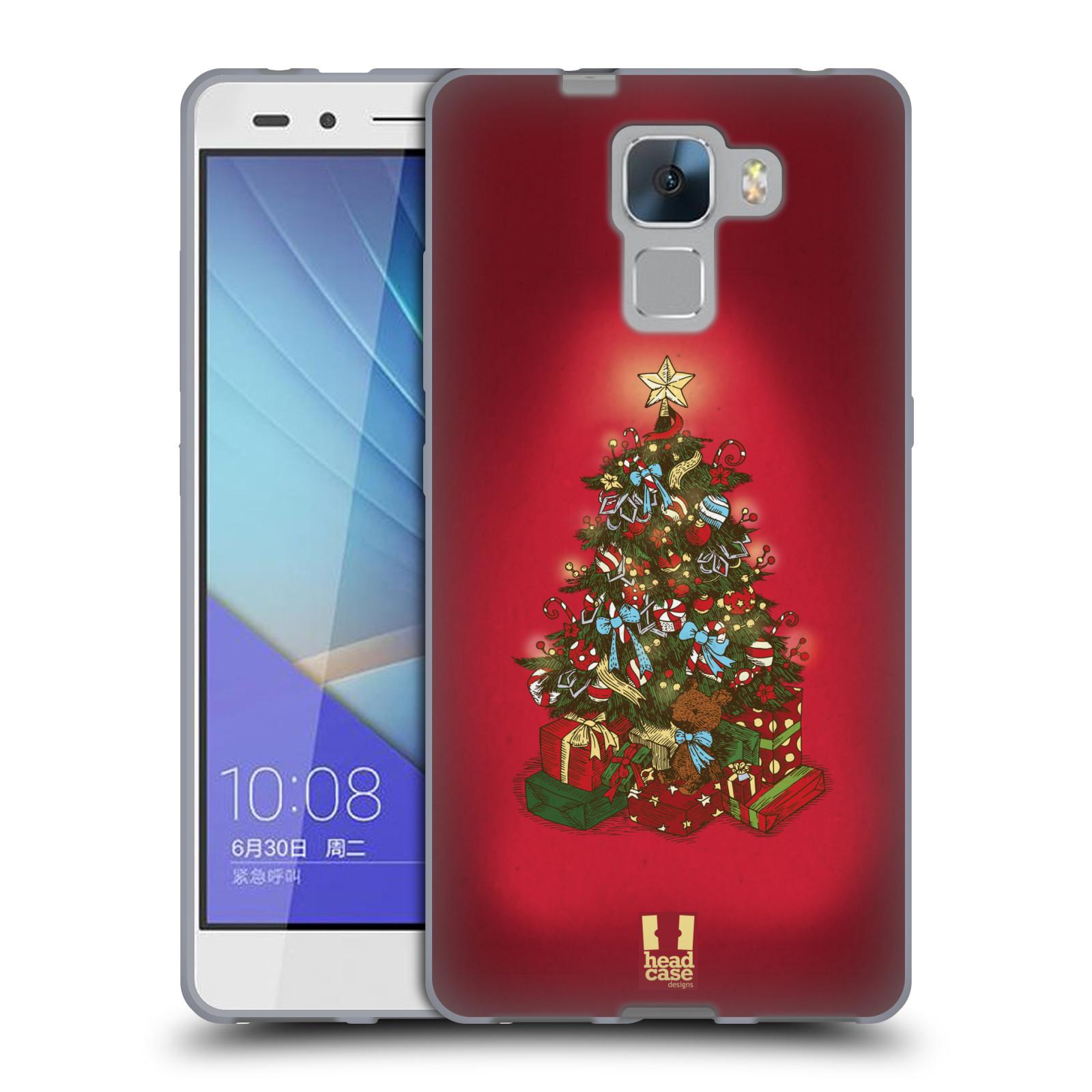 Silikonové pouzdro na mobil Honor 7 - Head Case - Stromeček