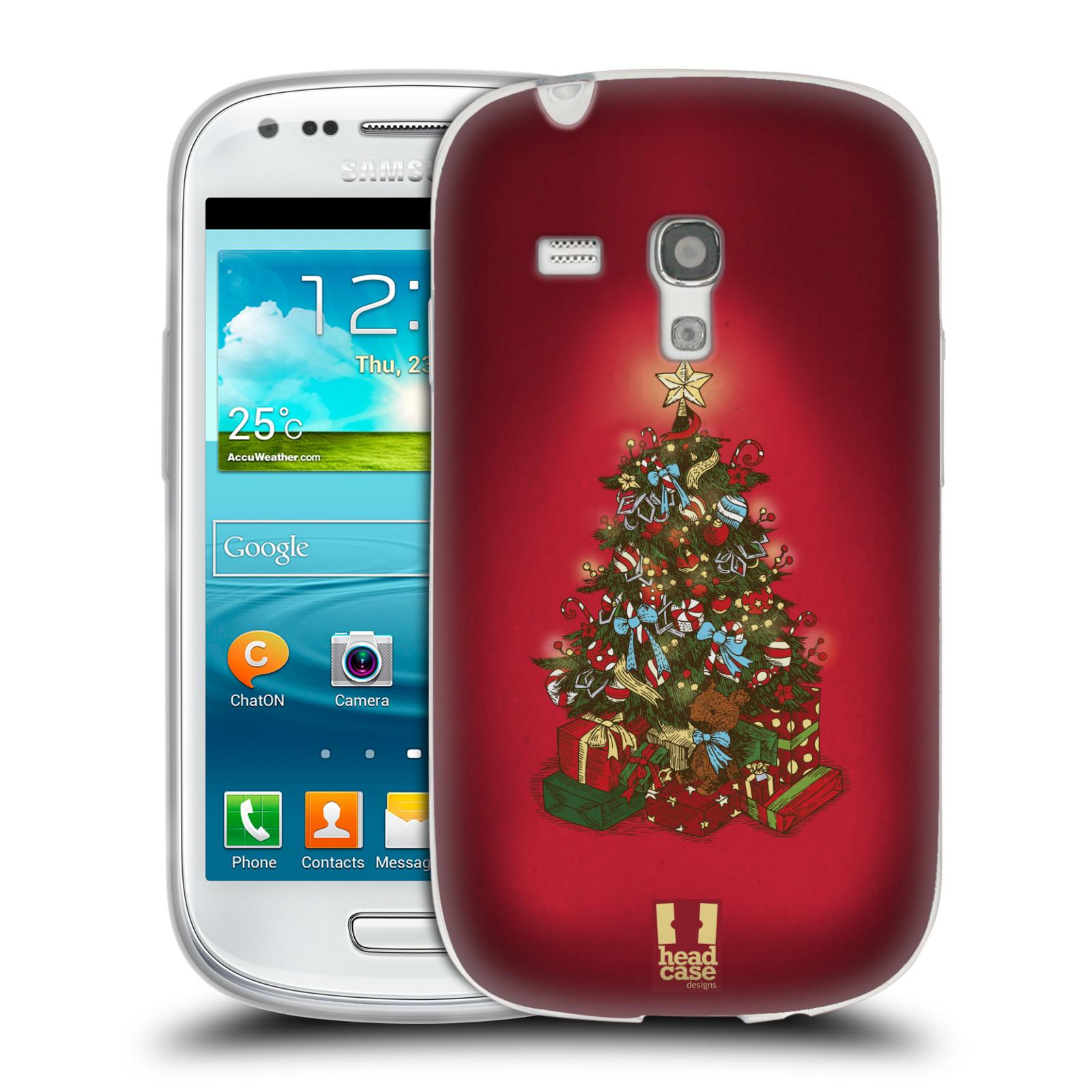 Silikonové pouzdro na mobil Samsung Galaxy S III Mini - Head Case - Stromeček