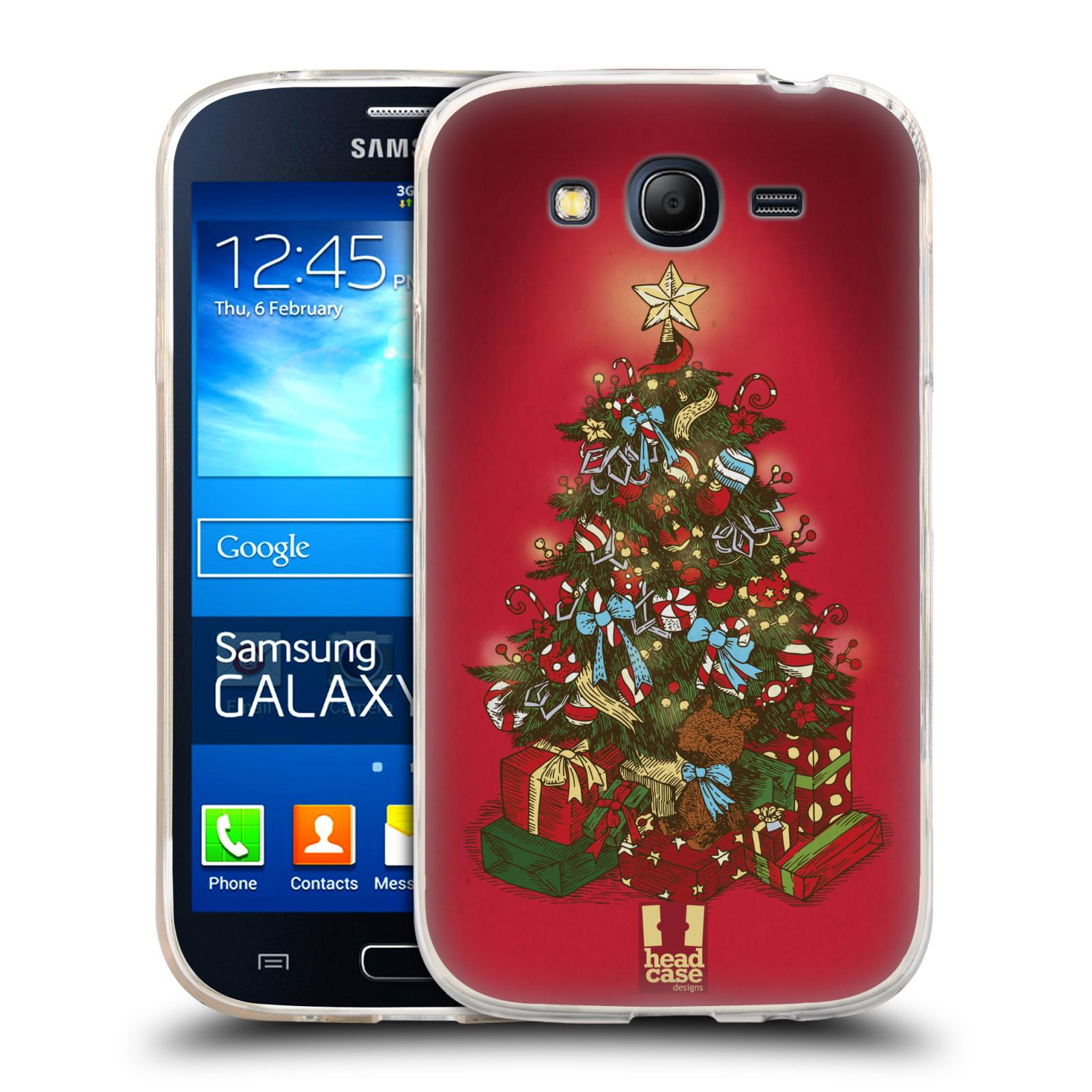 Silikonové pouzdro na mobil Samsung Galaxy Grand Neo - Head Case - Stromeček