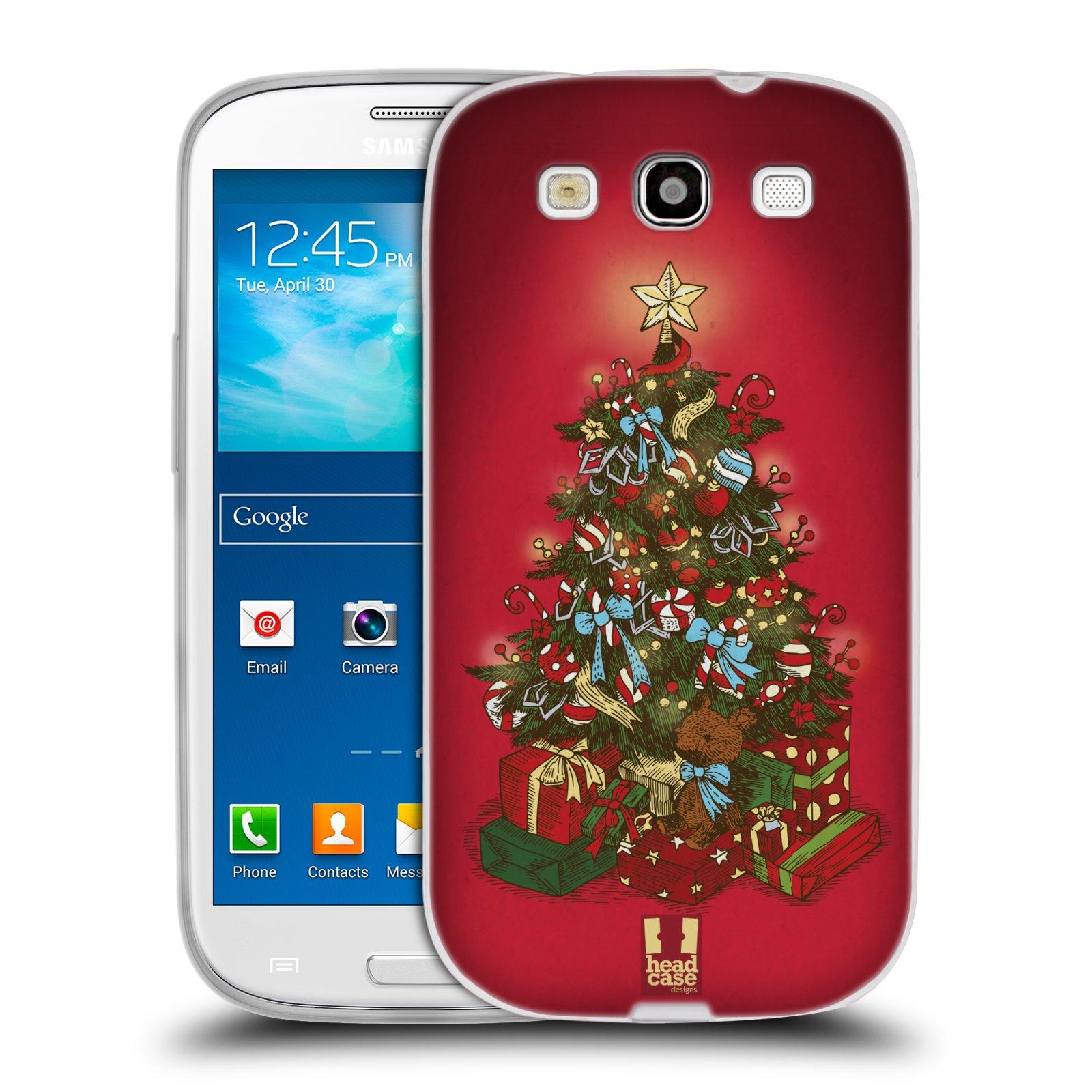Silikonové pouzdro na mobil Samsung Galaxy S3 Neo - Head Case - Stromeček