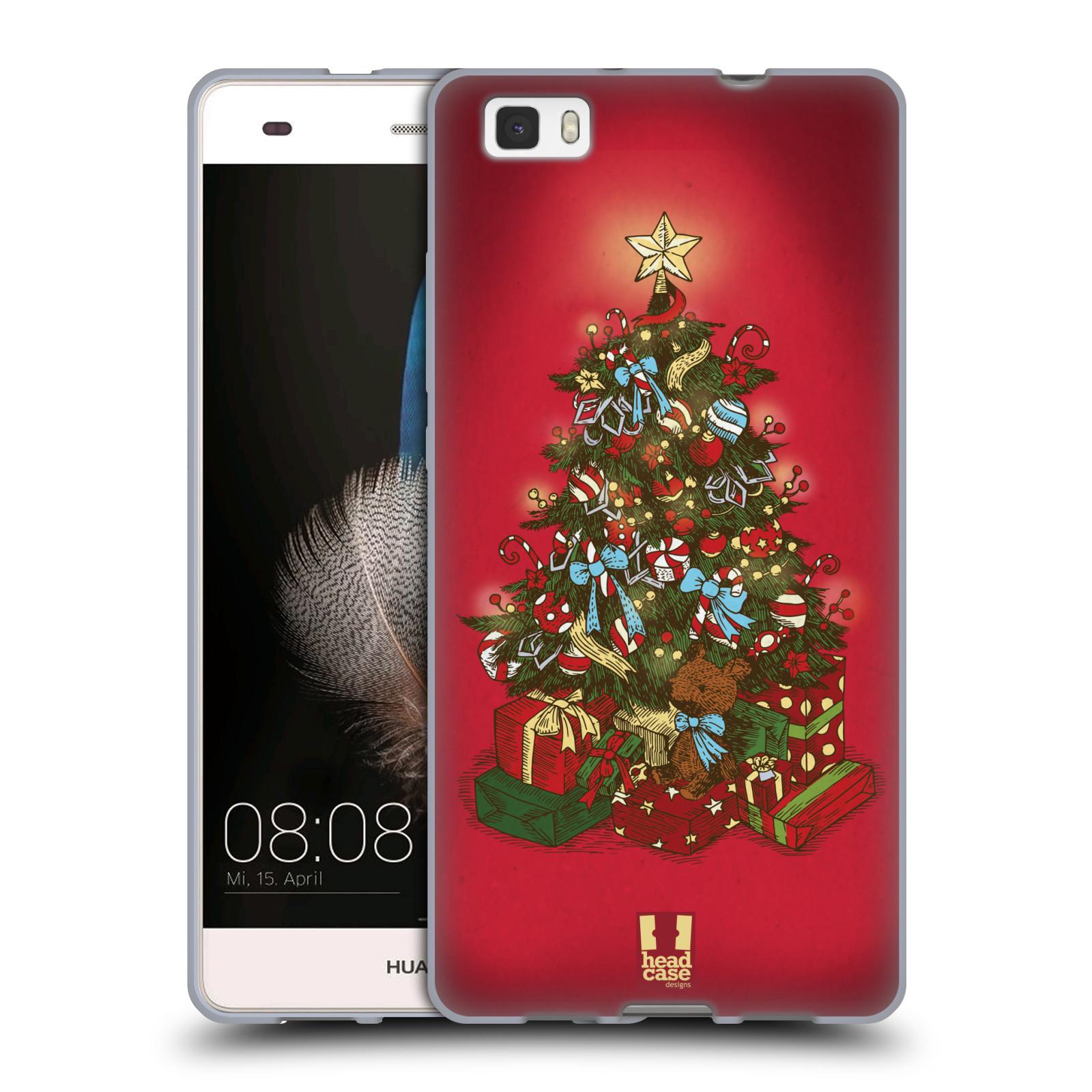 Silikonové pouzdro na mobil Huawei P8 Lite - Head Case - Stromeček