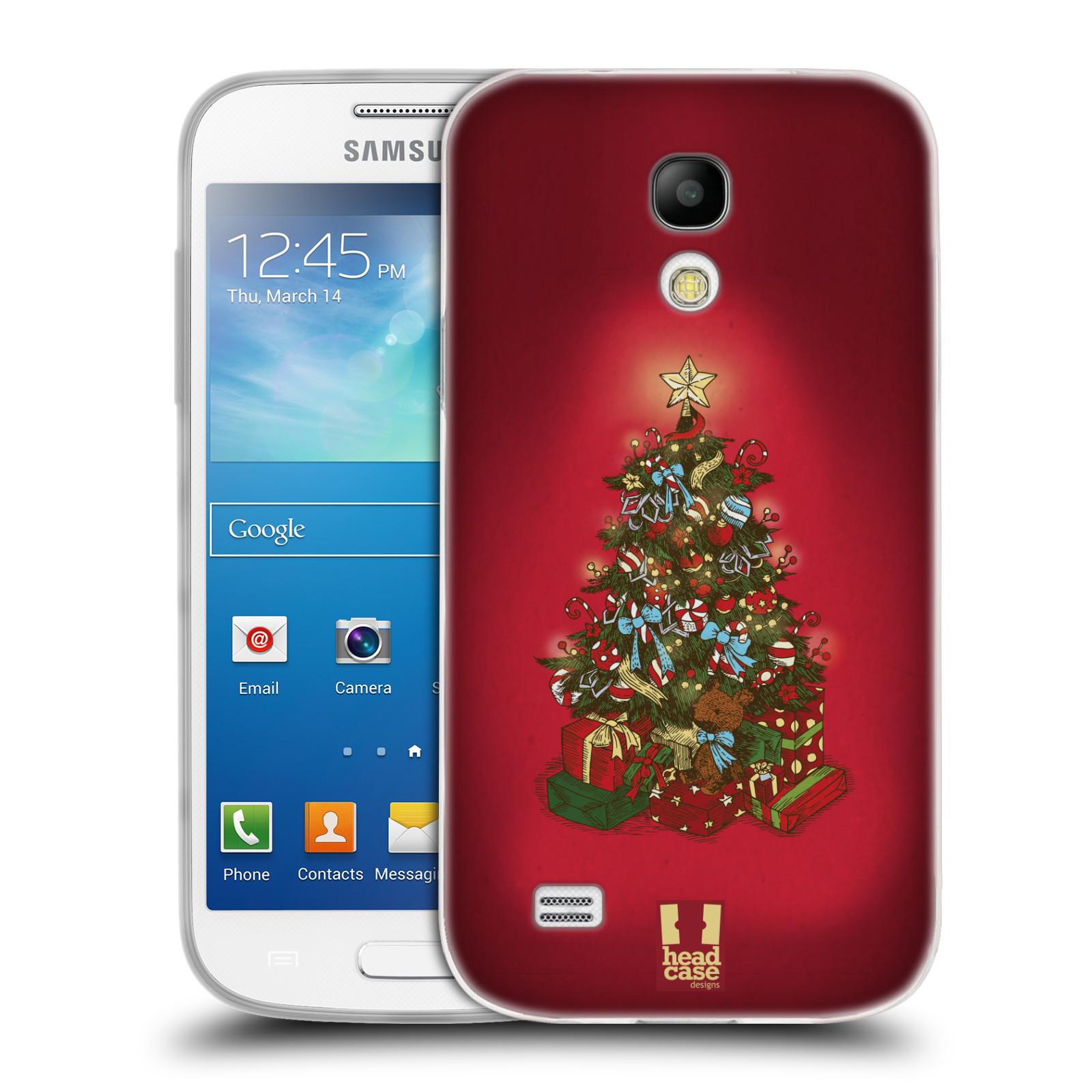 Silikonové pouzdro na mobil Samsung Galaxy S4 Mini - Head Case - Stromeček