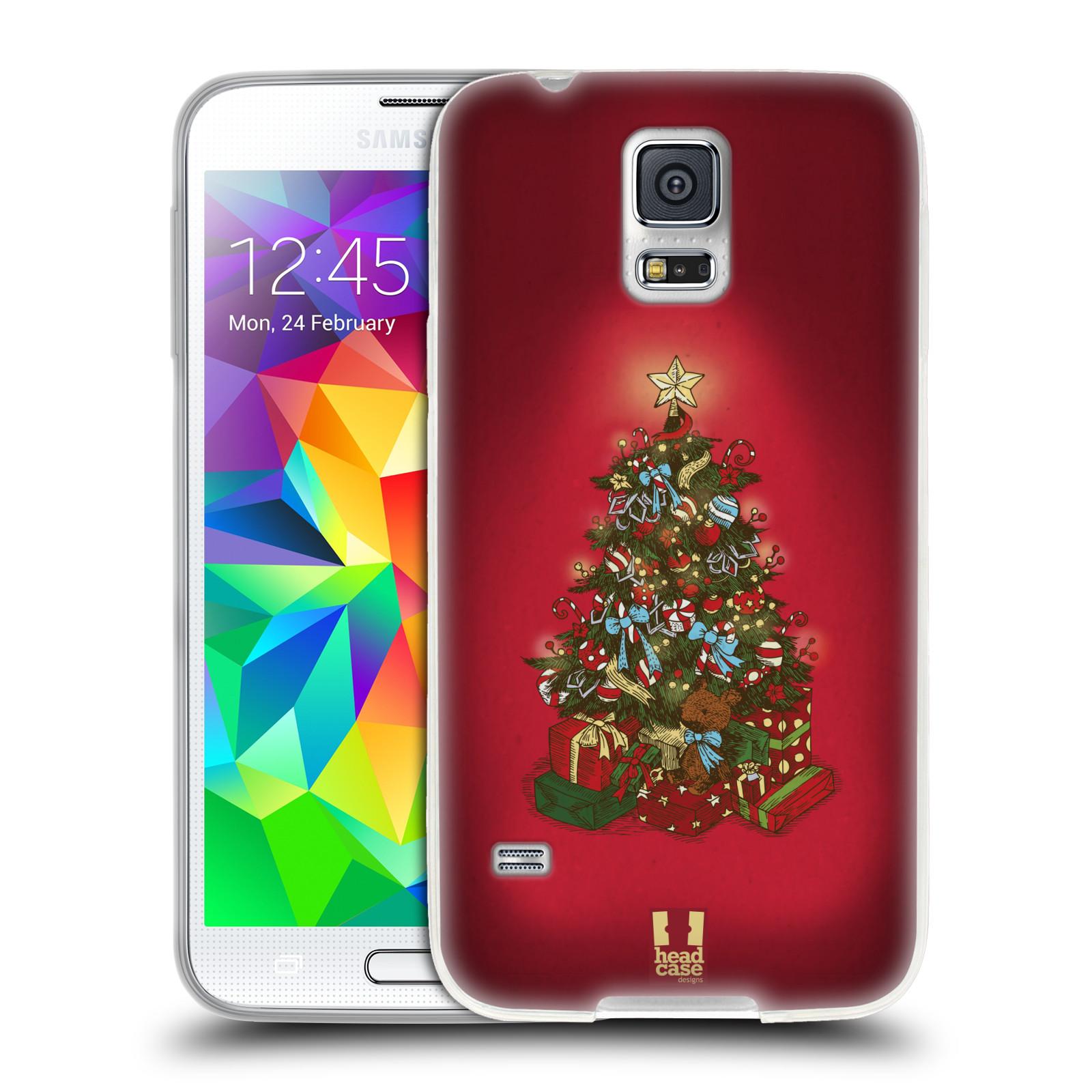 Silikonové pouzdro na mobil Samsung Galaxy S5 Neo - Head Case - Stromeček