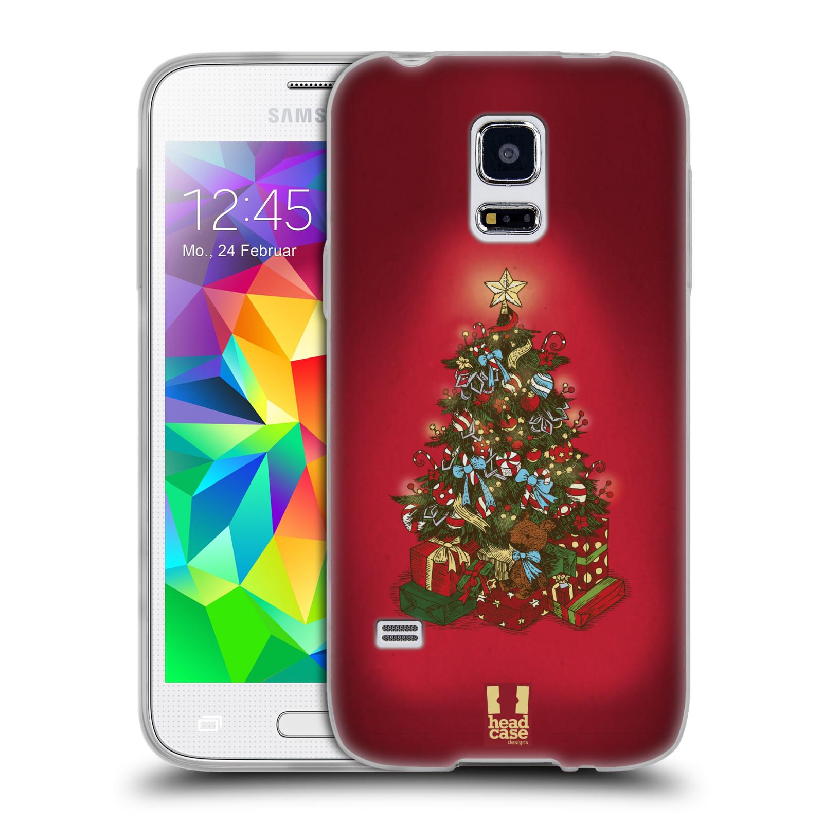 Silikonové pouzdro na mobil Samsung Galaxy S5 Mini - Head Case - Stromeček