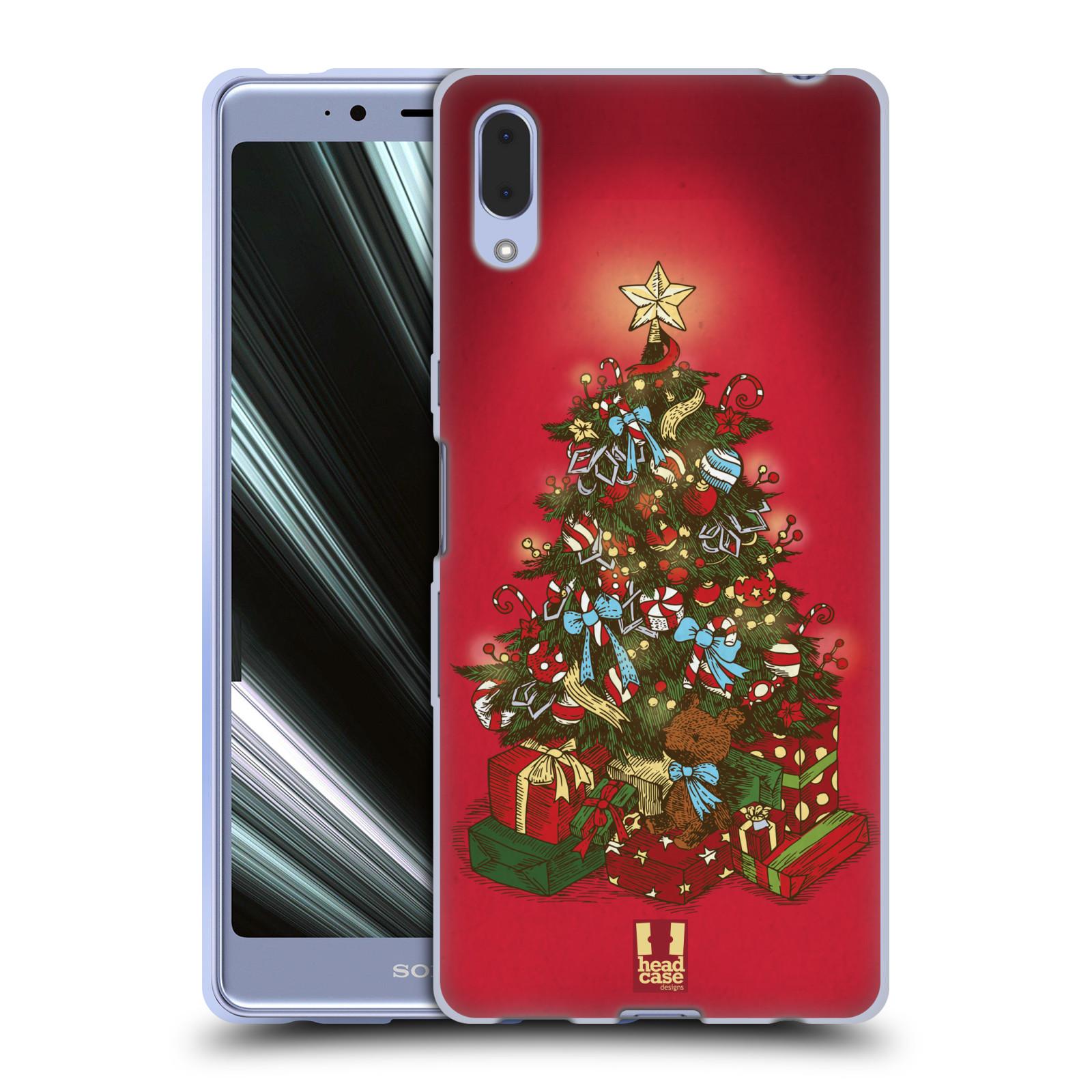 Silikonové pouzdro na mobil Sony Xperia L3 - Head Case - Stromeček