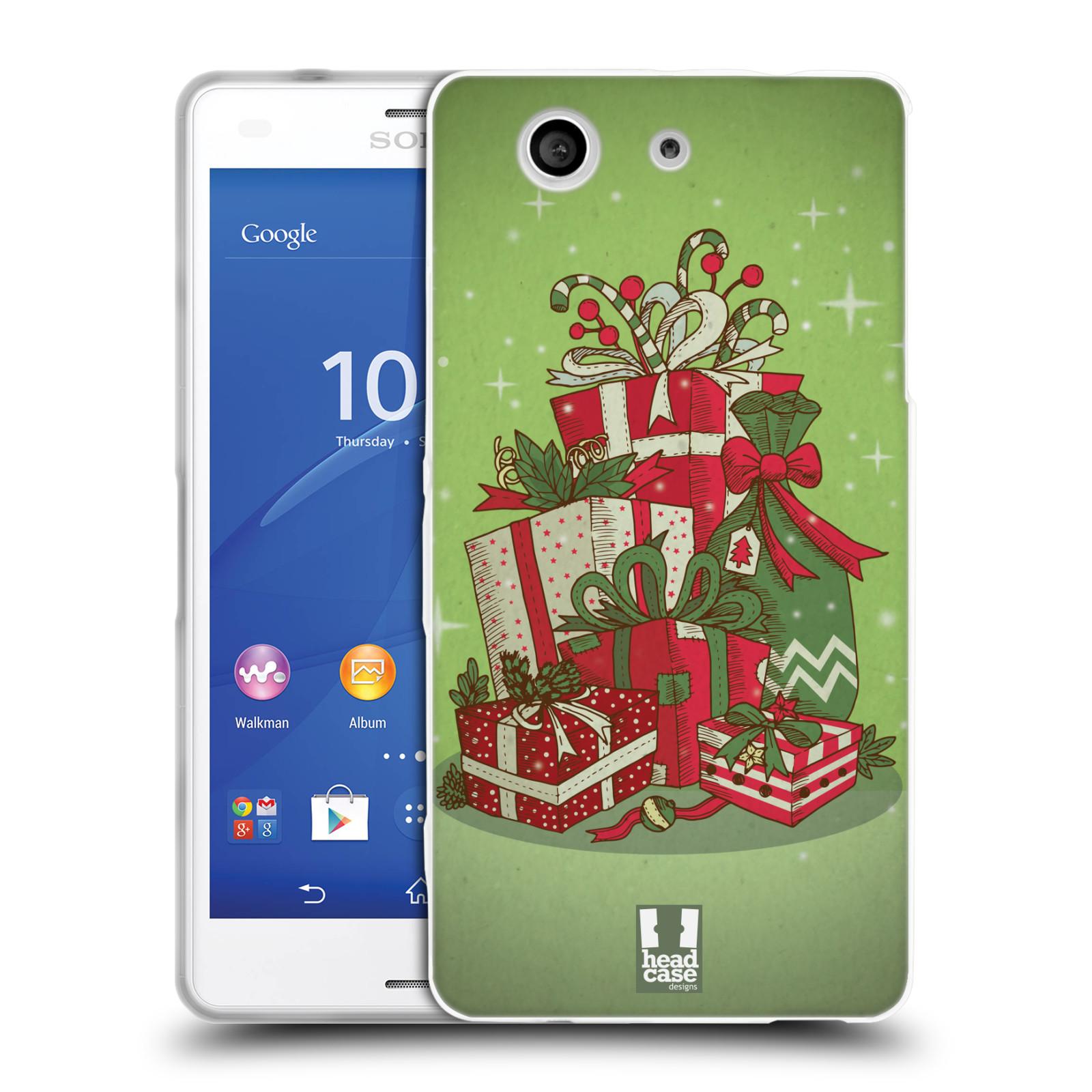 Silikonové pouzdro na mobil Sony Xperia Z3 Compact D5803 - Head Case - Dárečky