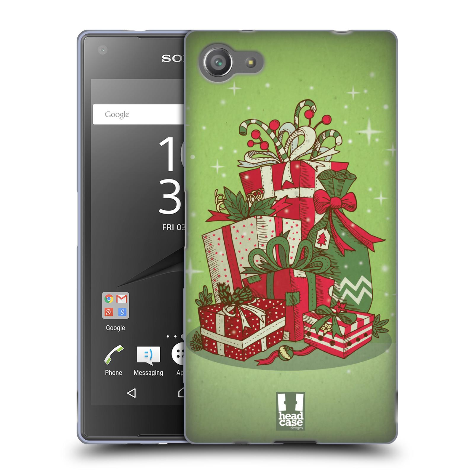 Silikonové pouzdro na mobil Sony Xperia Z5 Compact - Head Case - Dárečky