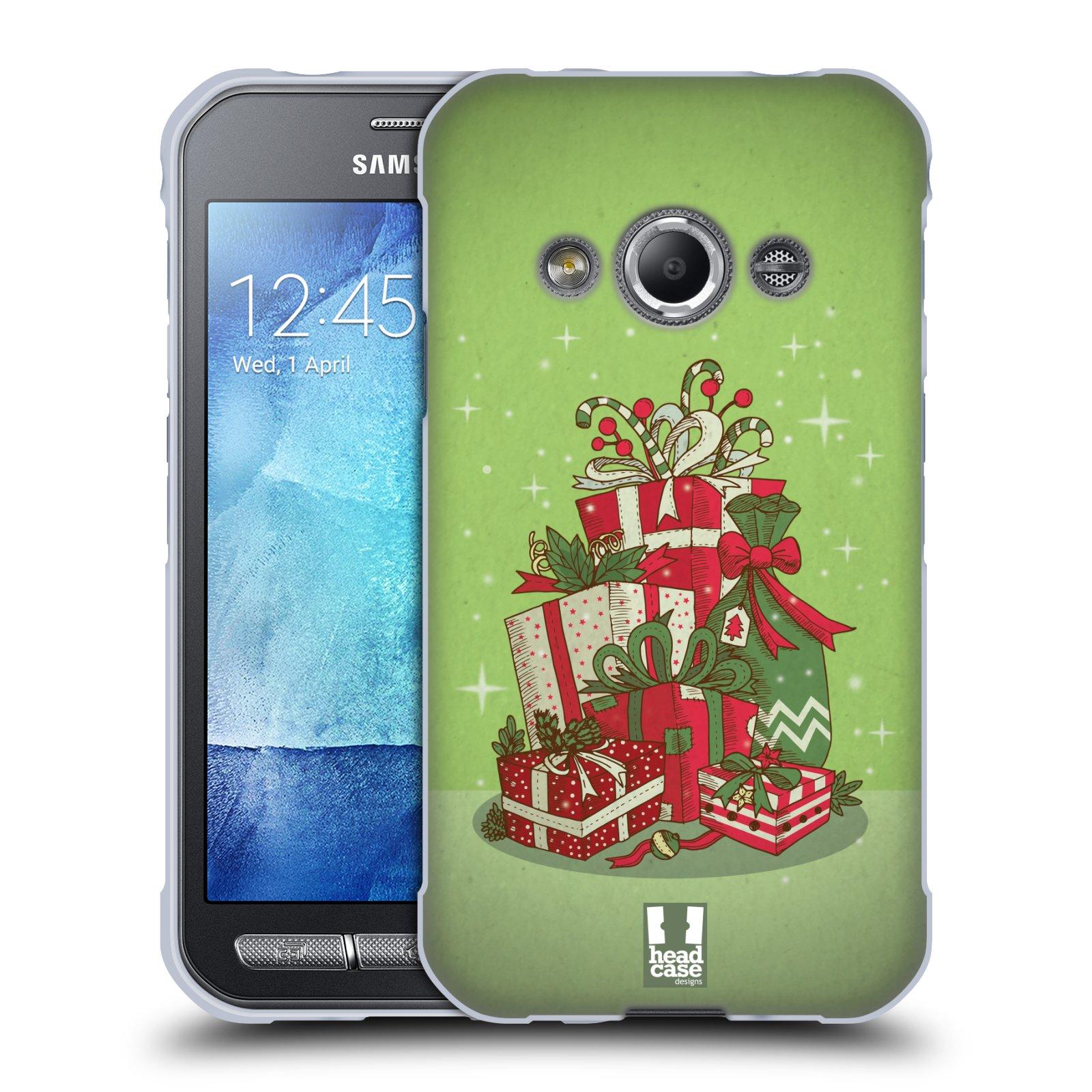 Silikonové pouzdro na mobil Samsung Galaxy Xcover 3 - Head Case - Dárečky
