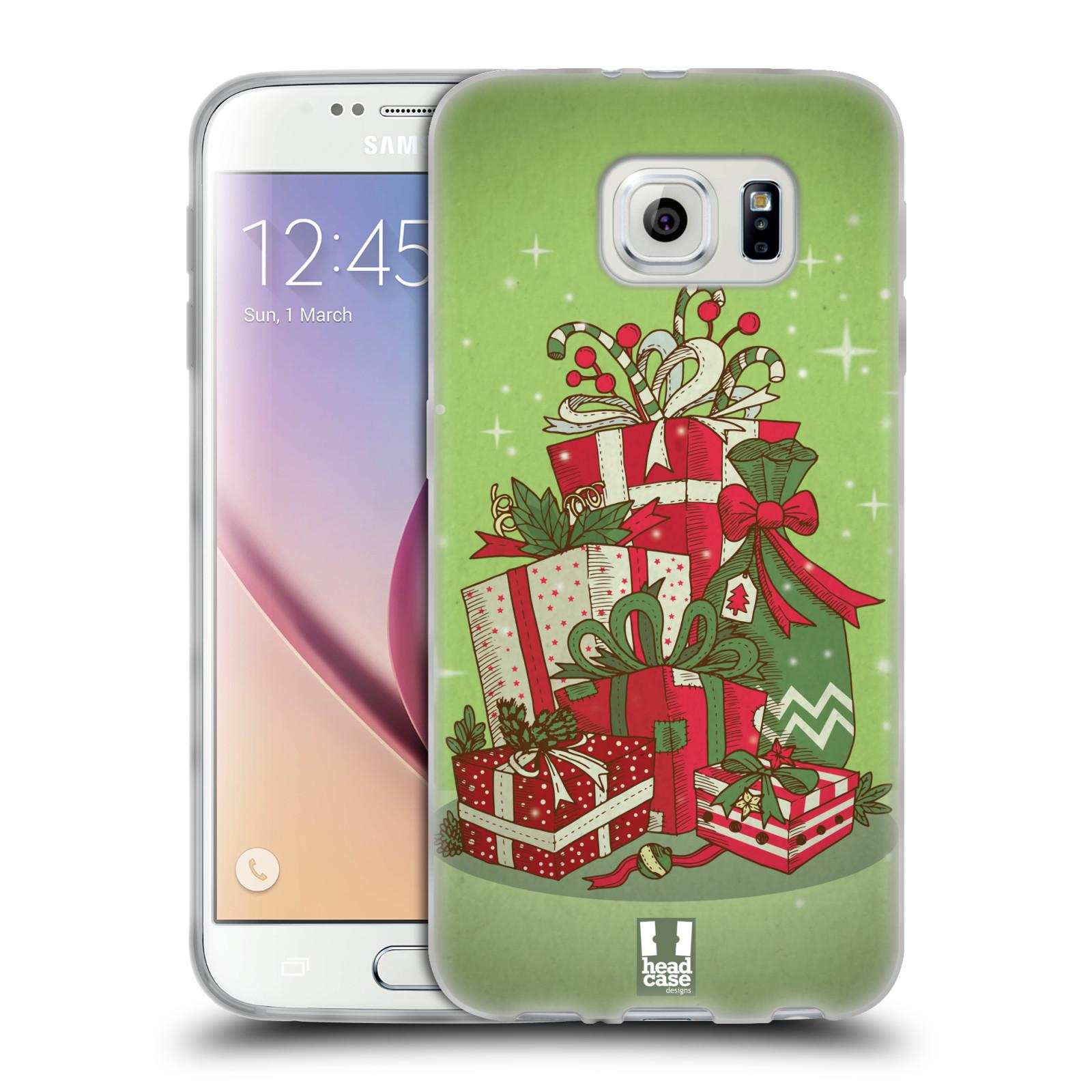 Silikonové pouzdro na mobil Samsung Galaxy S6 - Head Case - Dárečky