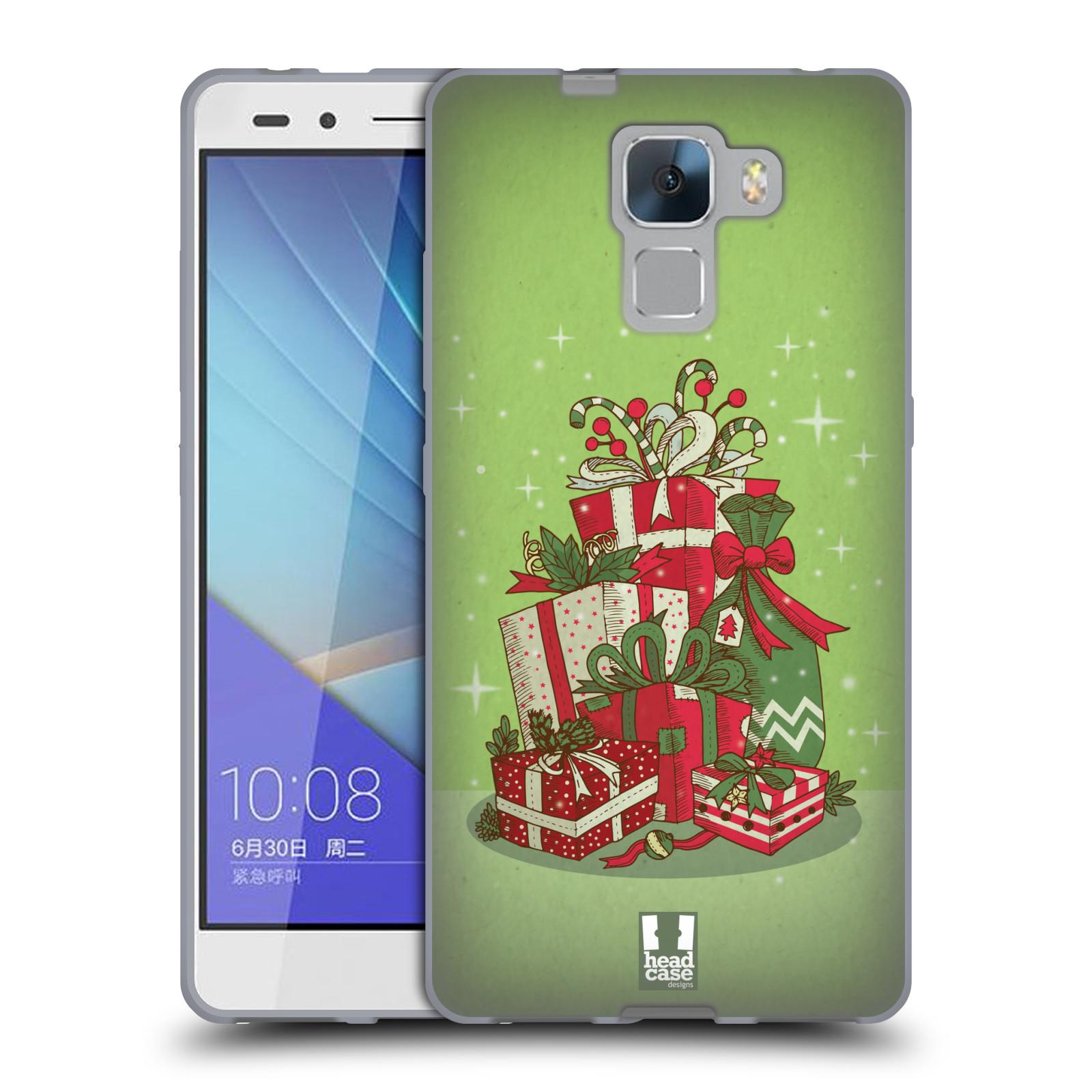 Silikonové pouzdro na mobil Honor 7 - Head Case - Dárečky