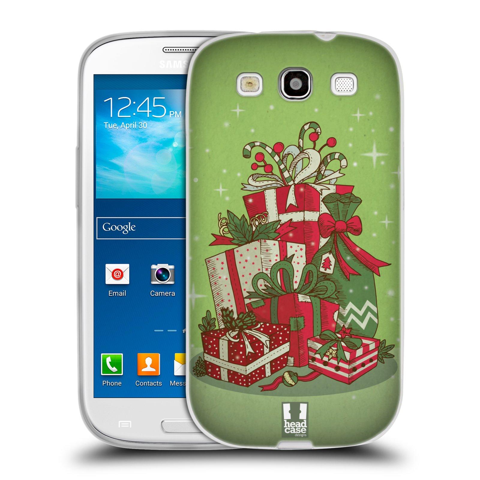 Silikonové pouzdro na mobil Samsung Galaxy S3 Neo - Head Case - Dárečky