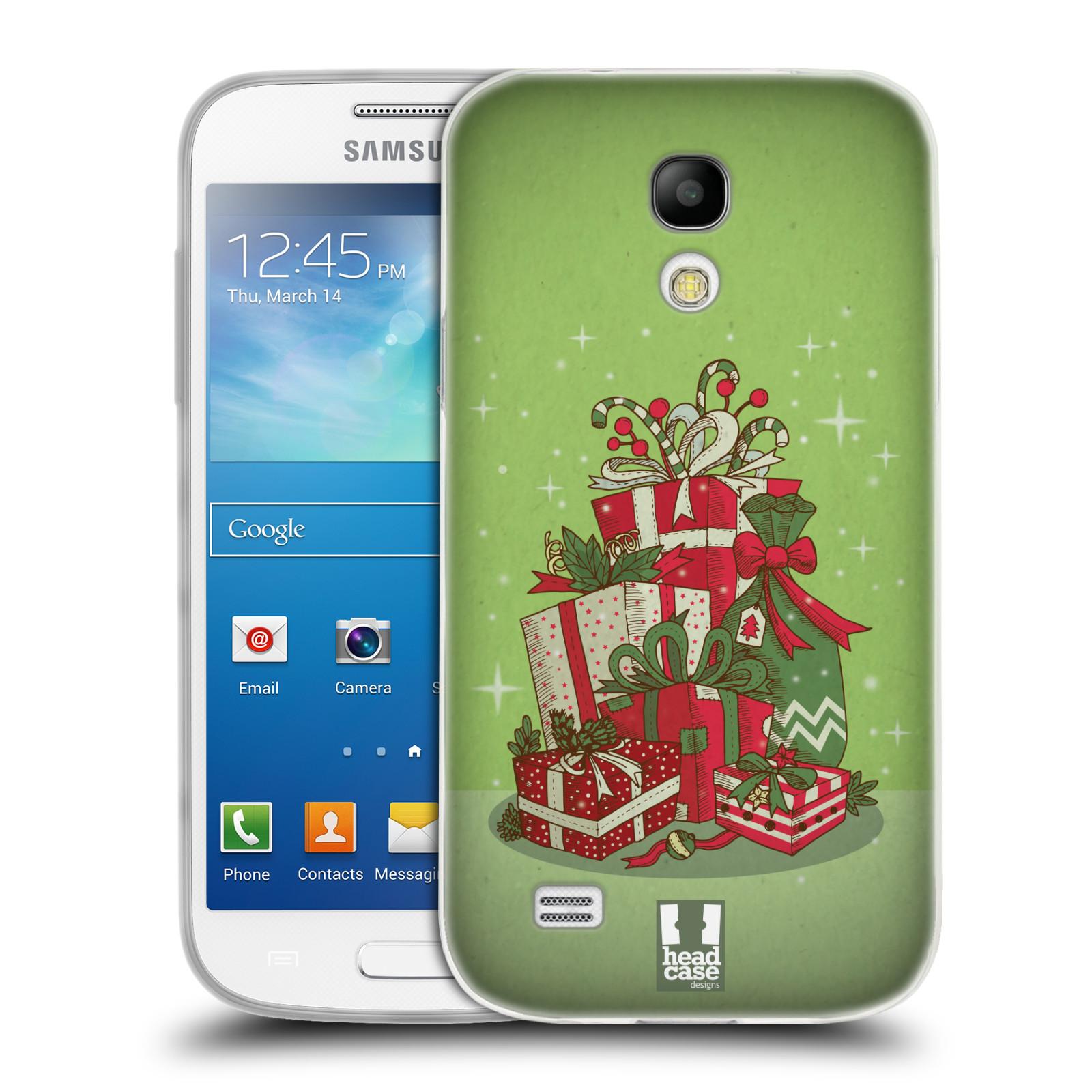 Silikonové pouzdro na mobil Samsung Galaxy S4 Mini - Head Case - Dárečky