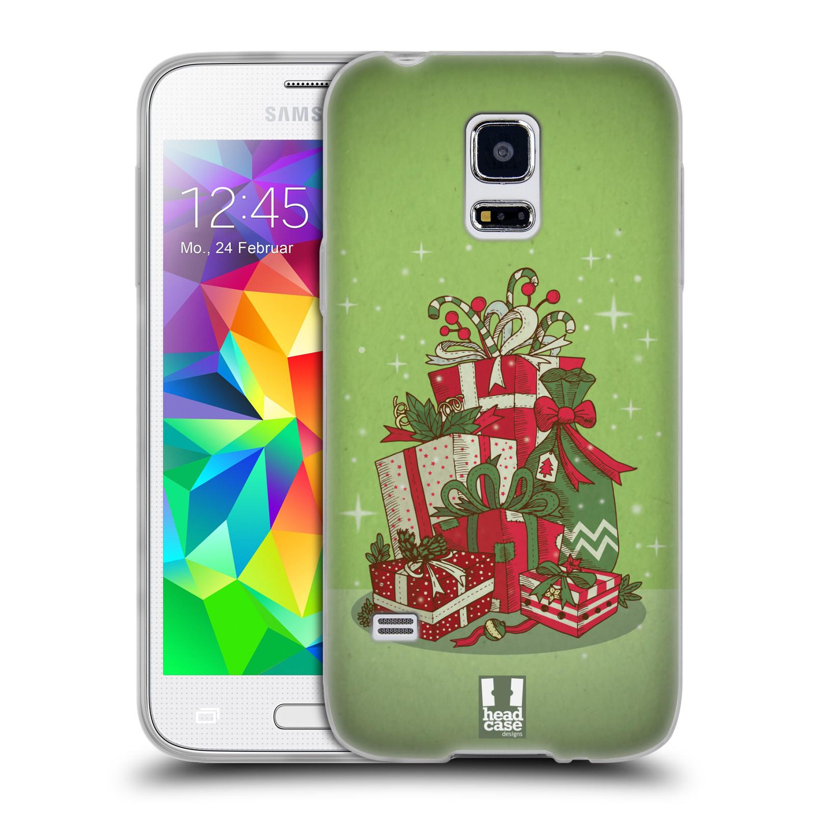 Silikonové pouzdro na mobil Samsung Galaxy S5 Mini - Head Case - Dárečky
