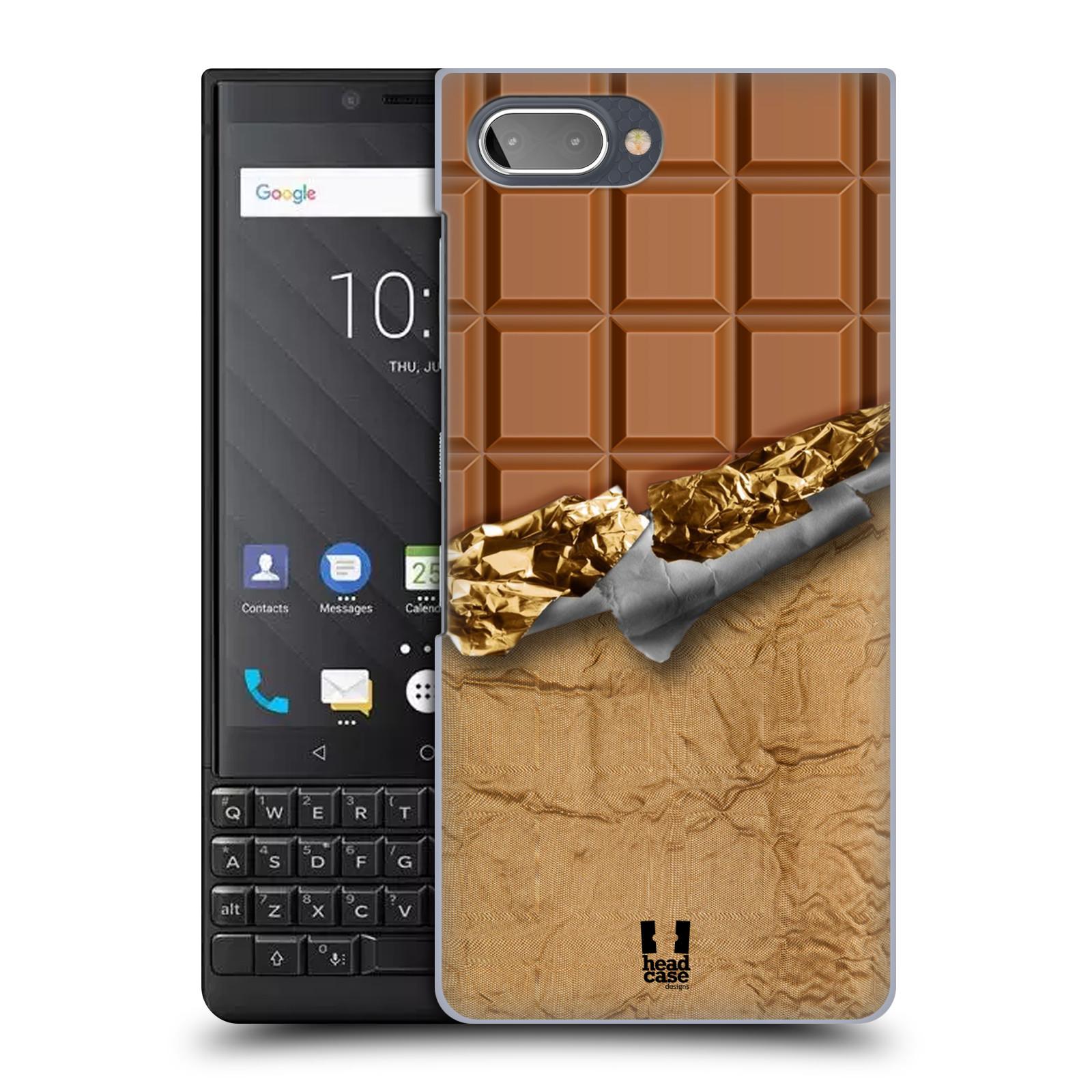 Plastové pouzdro na mobil Blackberry Key 2 - Head Case - ČOKOFOILED