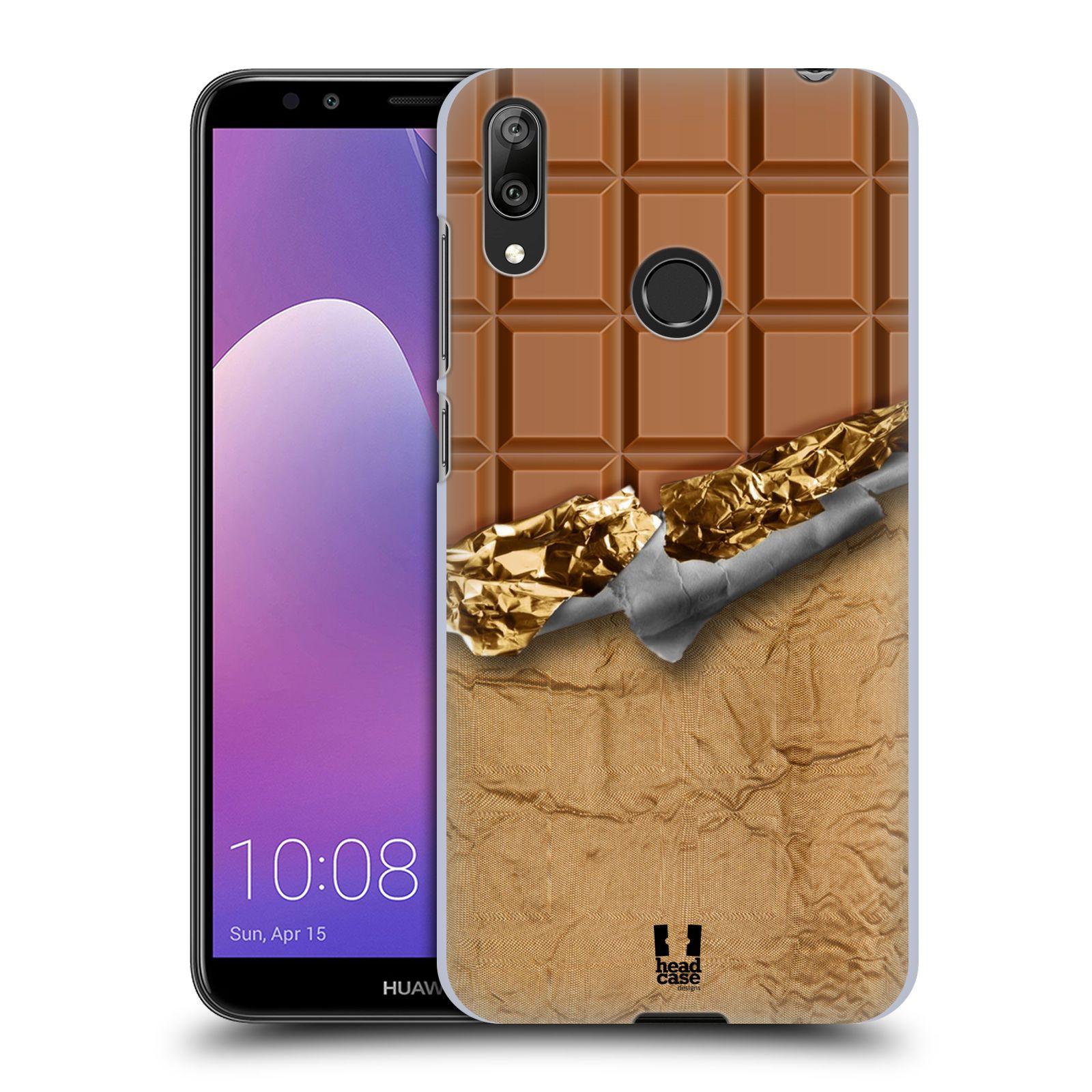 Plastové pouzdro na mobil Huawei Y7 (2019) - Head Case - ČOKOFOILED