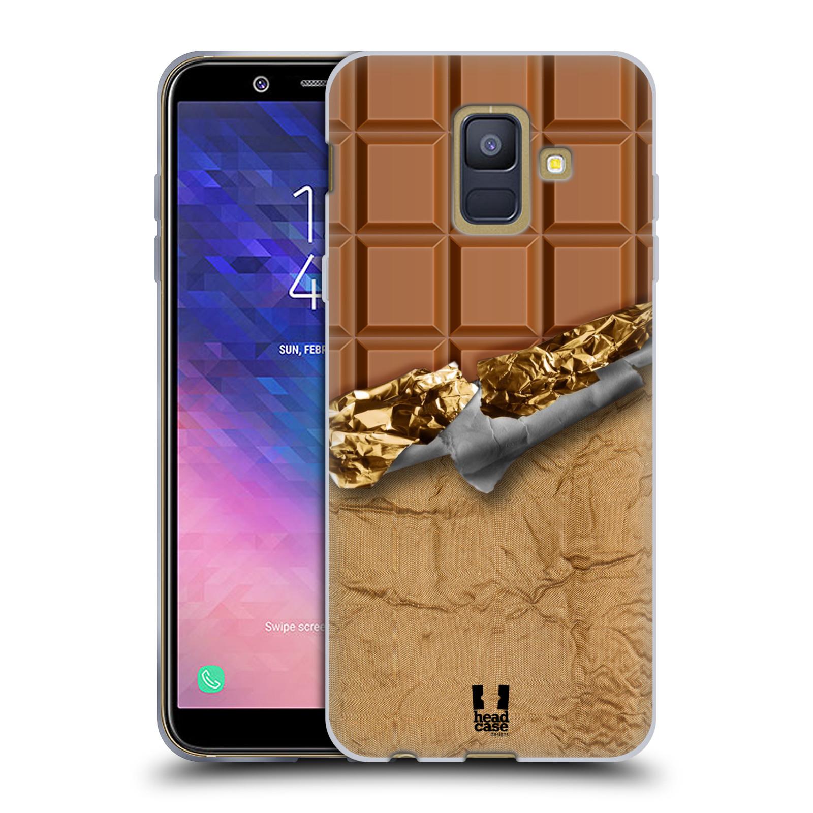 Silikonové pouzdro na mobil Samsung Galaxy A6 (2018) - Head Case - ČOKOFOILED