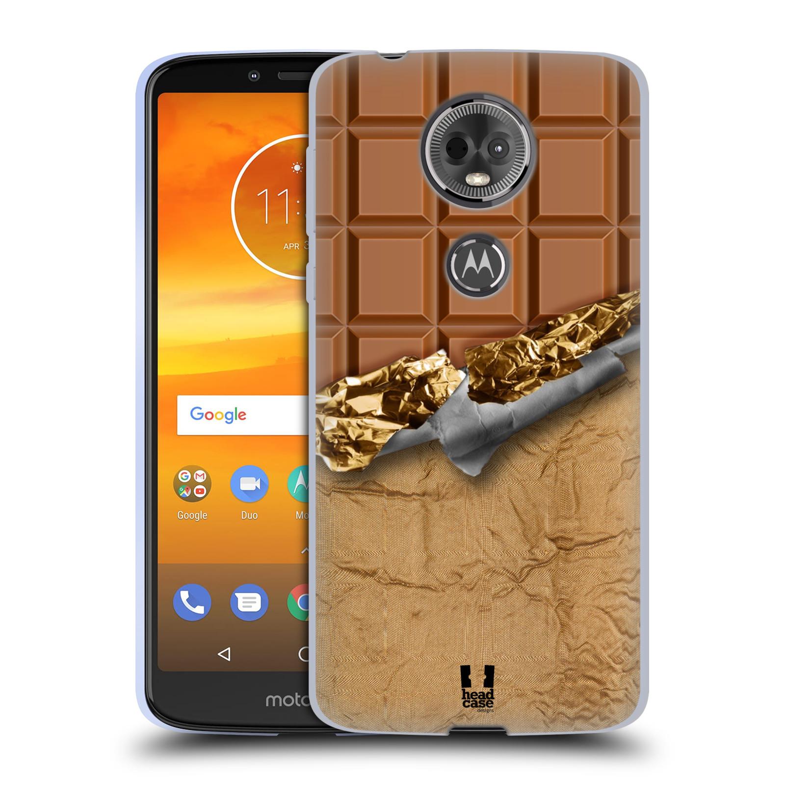 Silikonové pouzdro na mobil Motorola Moto E5 Plus - Head Case - ČOKOFOILED