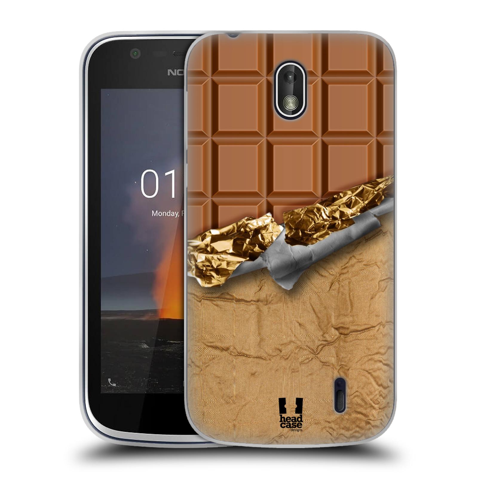 Silikonové pouzdro na mobil Nokia 1 - Head Case - ČOKOFOILED