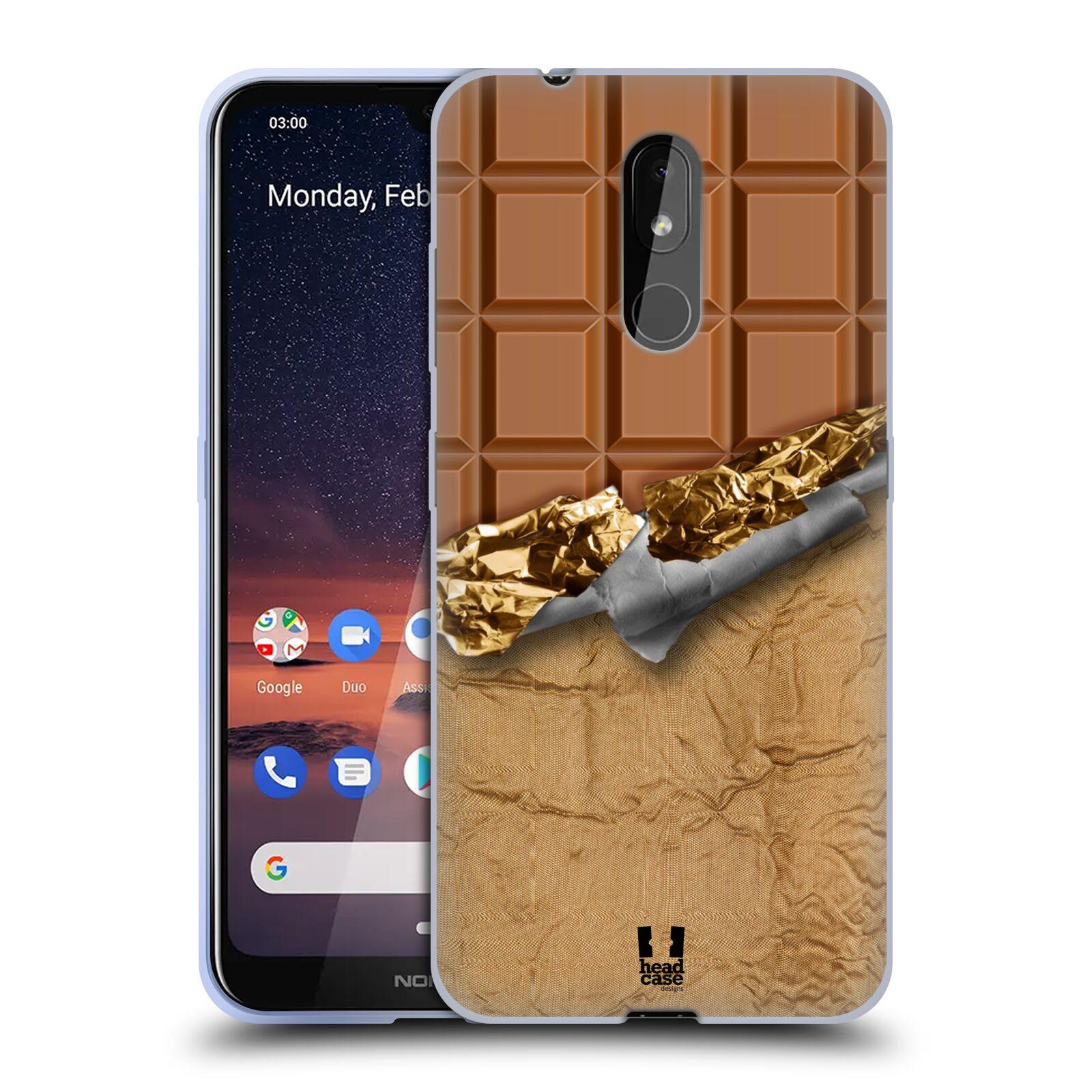 Silikonové pouzdro na mobil Nokia 3.2 - Head Case - ČOKOFOILED