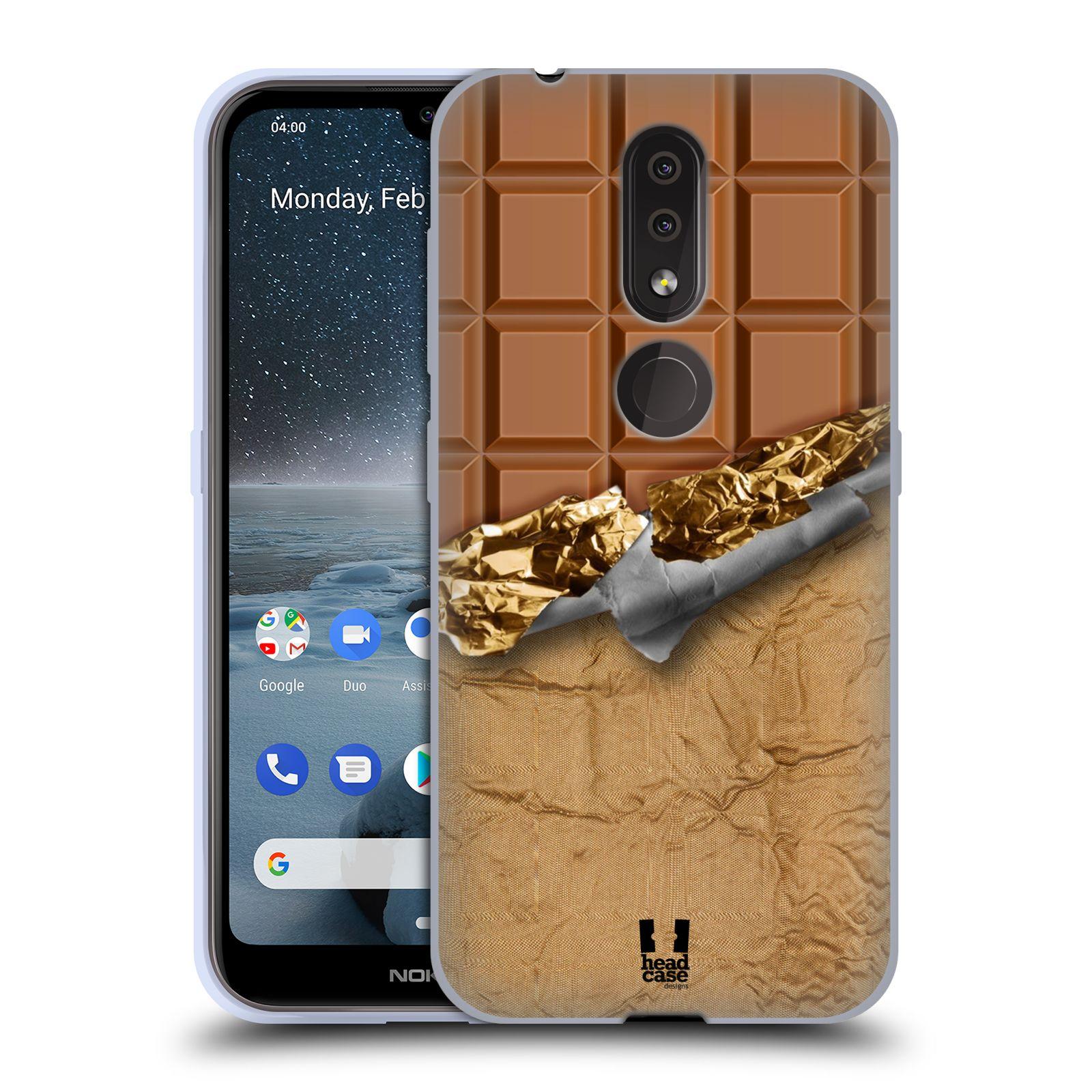 Silikonové pouzdro na mobil Nokia 4.2 - Head Case - ČOKOFOILED