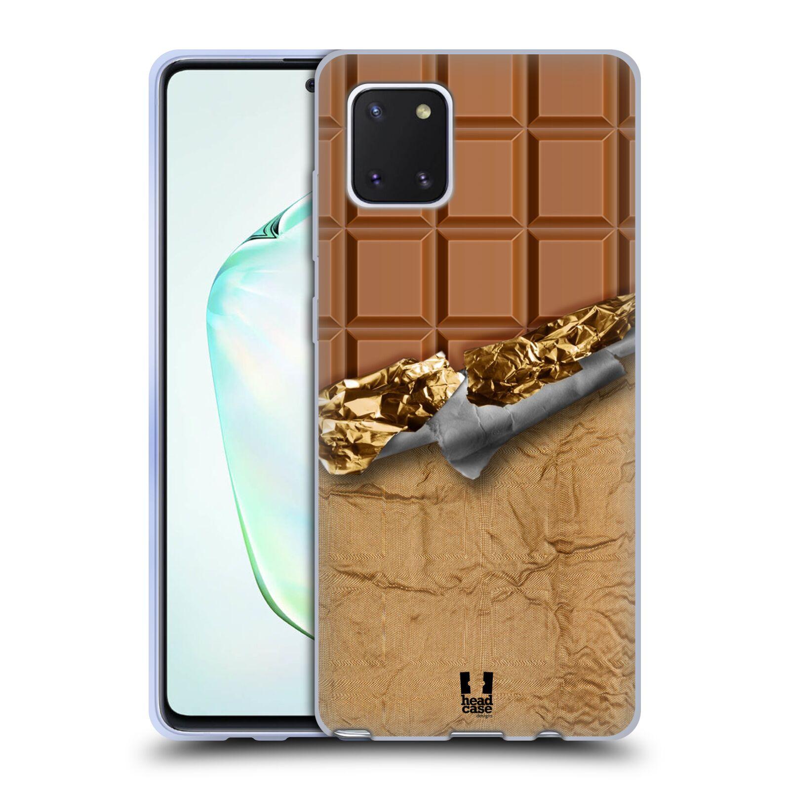 Silikonové pouzdro na mobil Samsung Galaxy Note 10 Lite - Head Case - ČOKOFOILED
