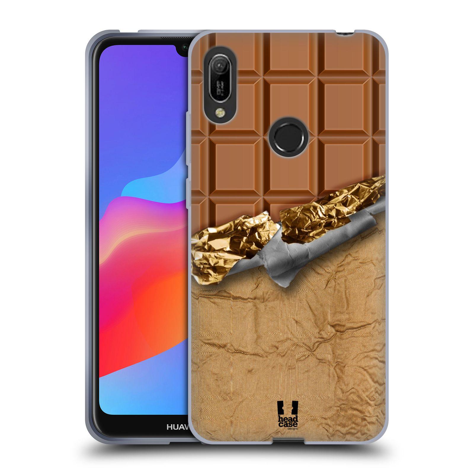 Silikonové pouzdro na mobil Huawei Y6 (2019) - Head Case - ČOKOFOILED