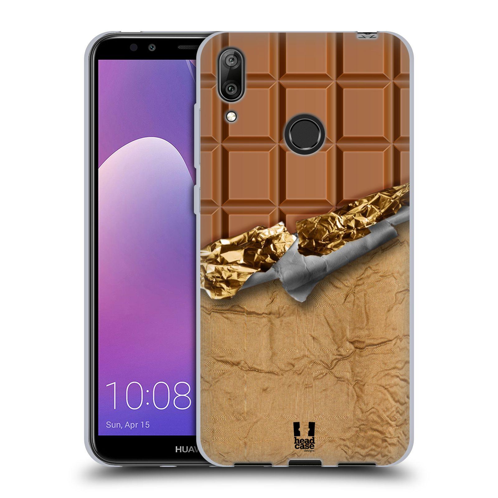 Silikonové pouzdro na mobil Huawei Y7 (2019) - Head Case - ČOKOFOILED